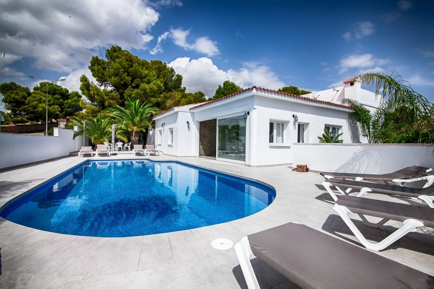 Villa recién reformada en Moraira