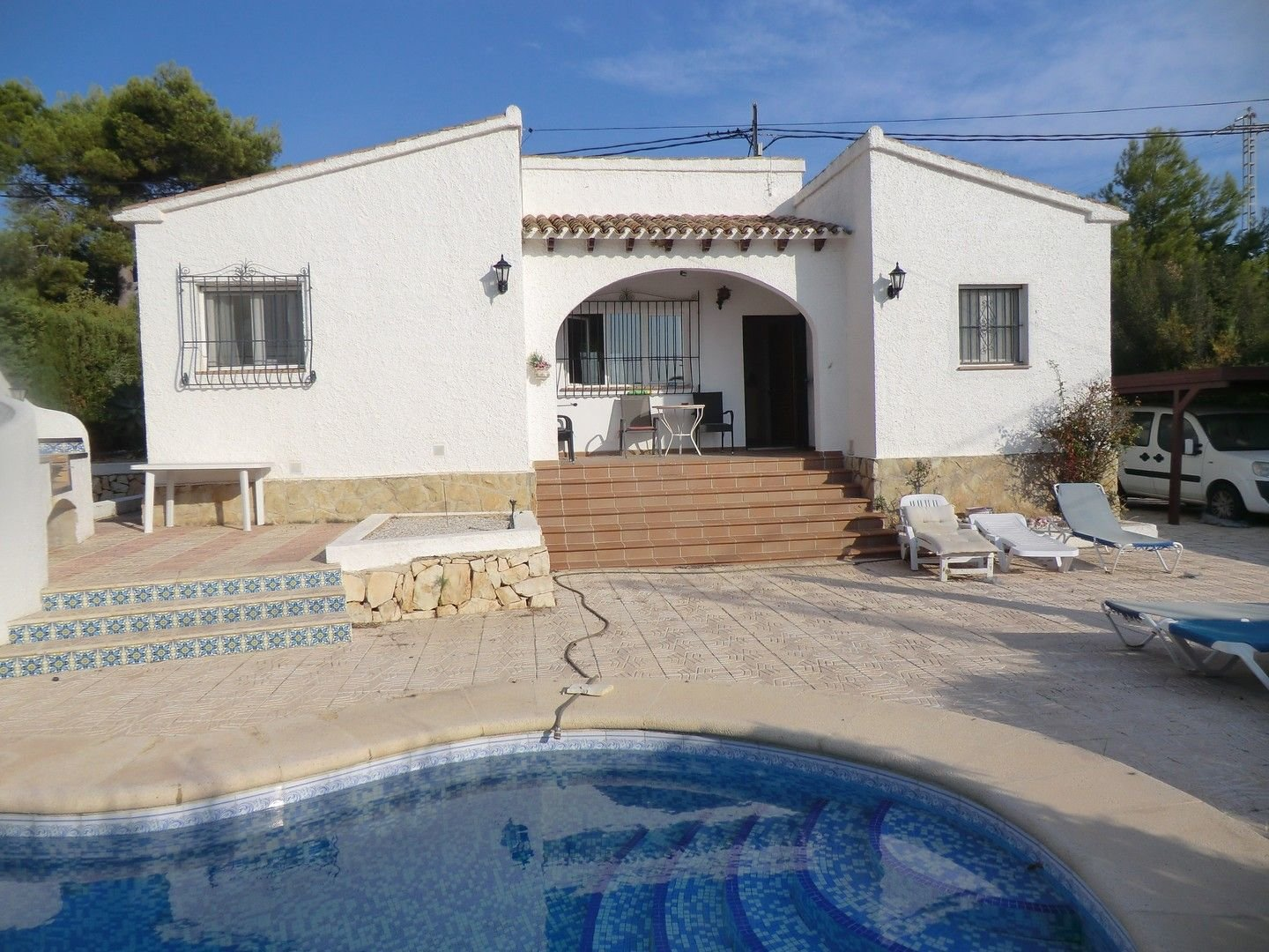 Small villa with swimming pool in Calpe