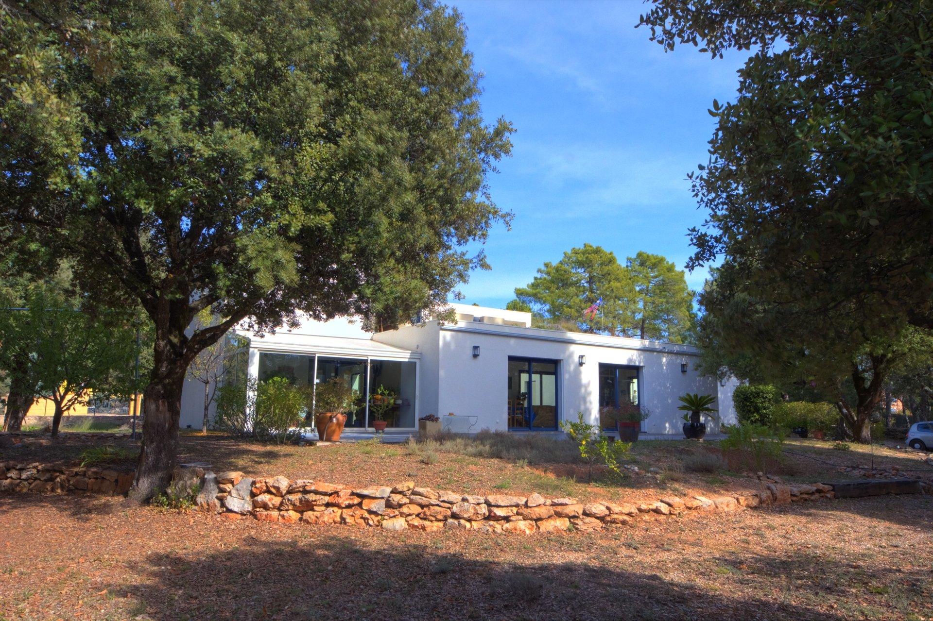 Regusse, superb modern house Var Provence verdon