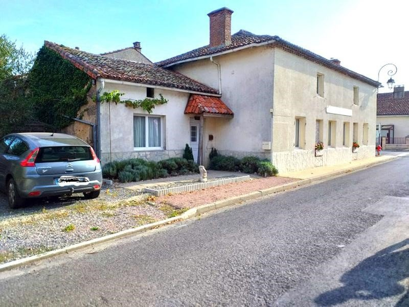 For Sale Village House with Garden in Millac – Vienne