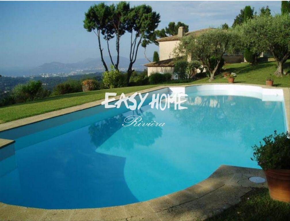 Purchase/Sale Villa Mougins sea view