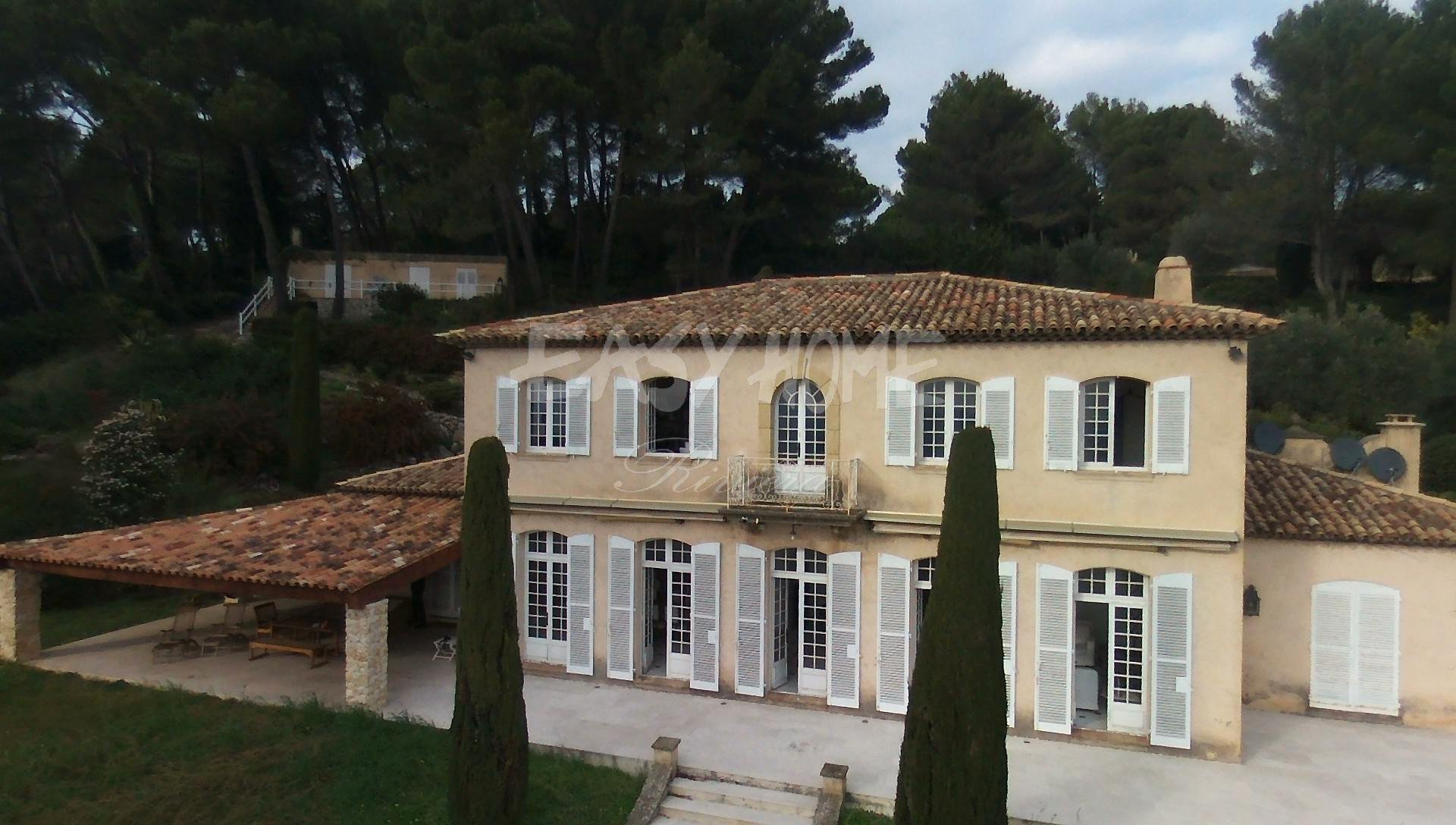 Purchase / Sale Villa Mougins sea view land 10000m2