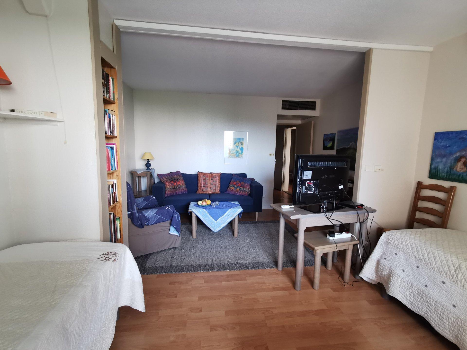 Sole agent : MANDELIEU - Résidence les golfeurs - 1-2 bedroom apartment 58m2. 2 terraces