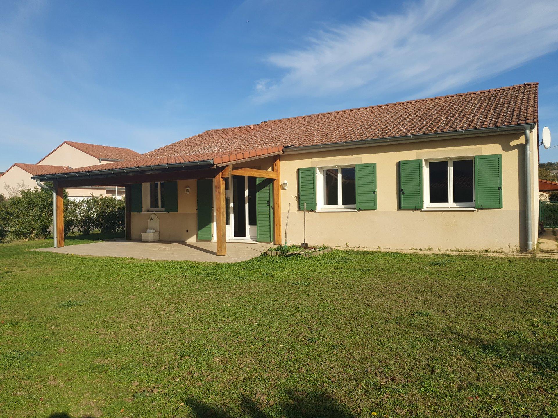 SAINT MAURICE L'EXIL, Villa T6 de plain-pied, 113 m²