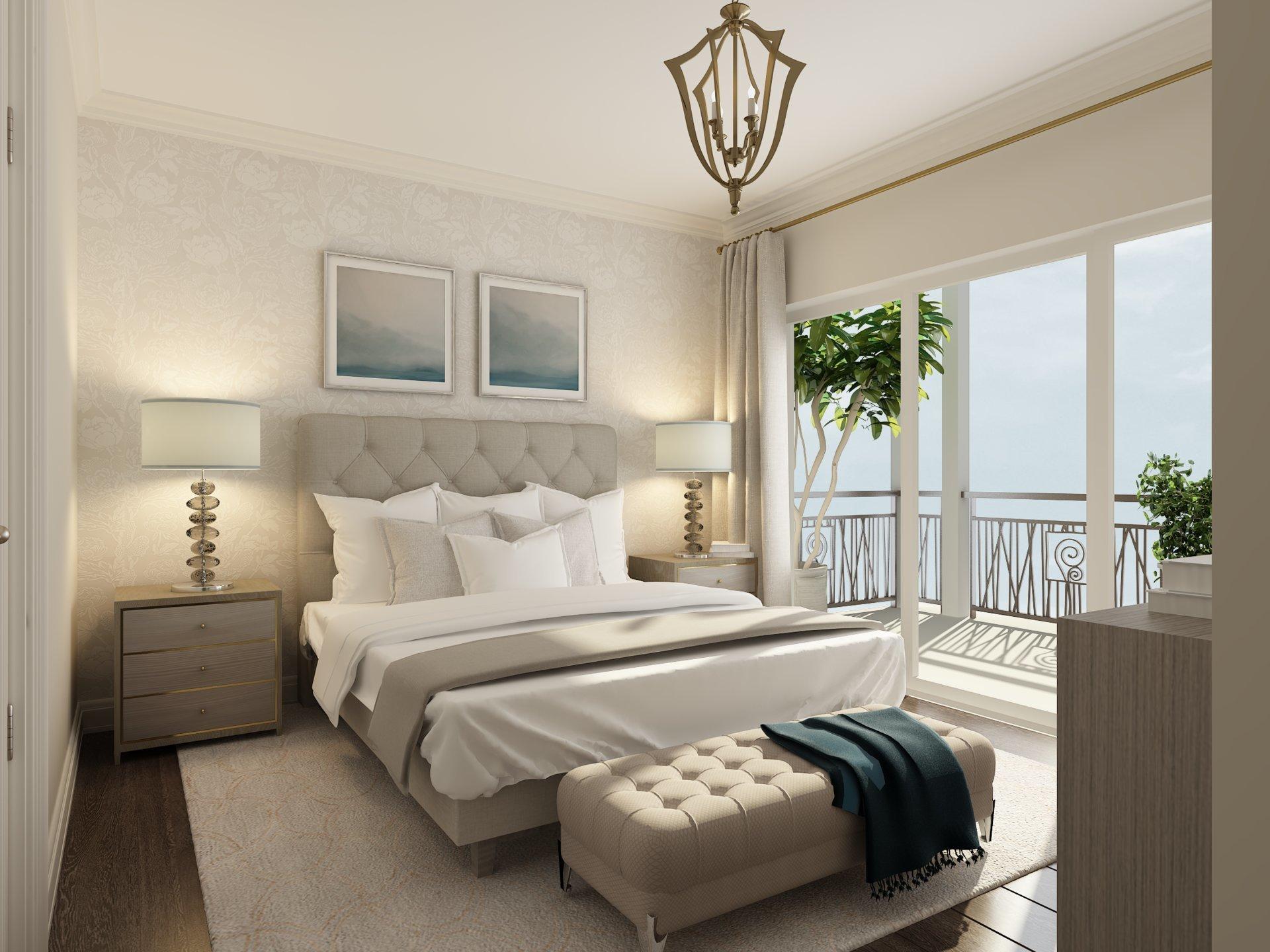 Cap d'Antibes -  228m2 penthouse med terrasse i liten residens med 6 NYE LUKSUSEILIGHETER og felles svømmebasseng.