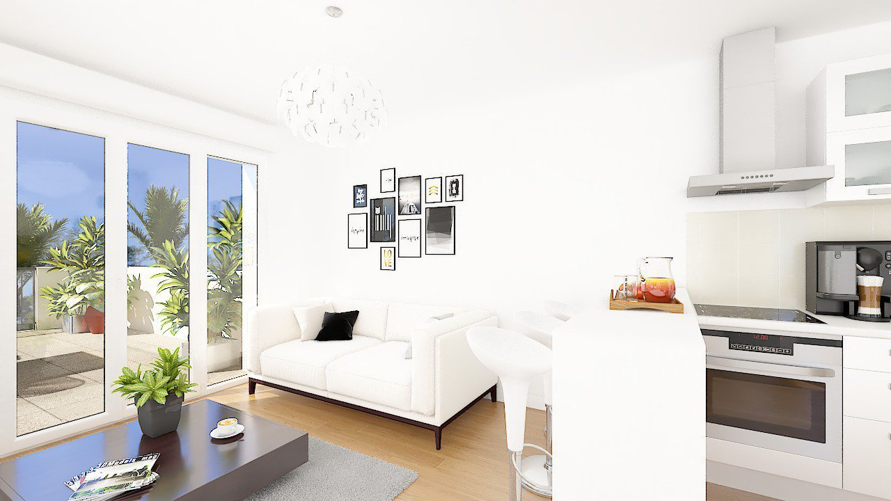 SOLE AGENT – ROQUEFORT-LES-PINS - SPACIOUS 2 or 3 BEDROOM APARTMENT WITH  TERRACES  AND POOL