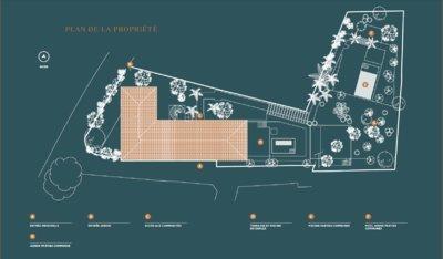 Cap d'Antibes - Ny, stor haveleilighet med privat have i liten lukseriøs residens med felles svømmebasseng