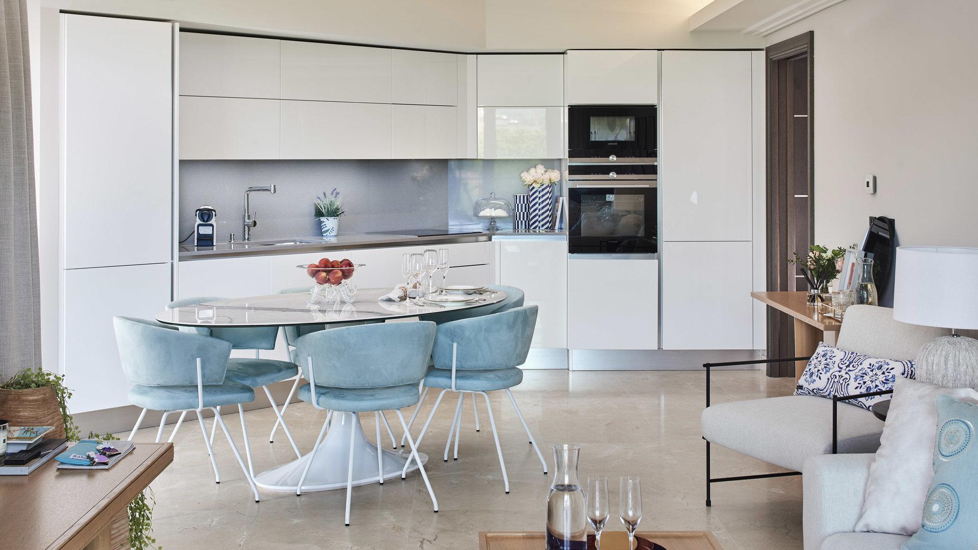 Cap d'Antibes -  Lekker ny 3-roms 85m2 leilighet med stor terrasse i eksepsjonell residens