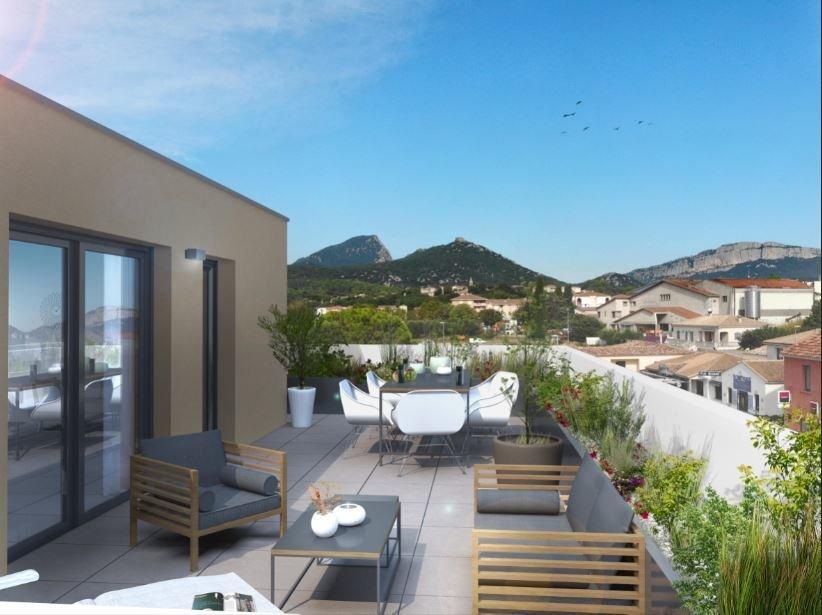 Toit terrasse avec vue panoramique exceptionnelle