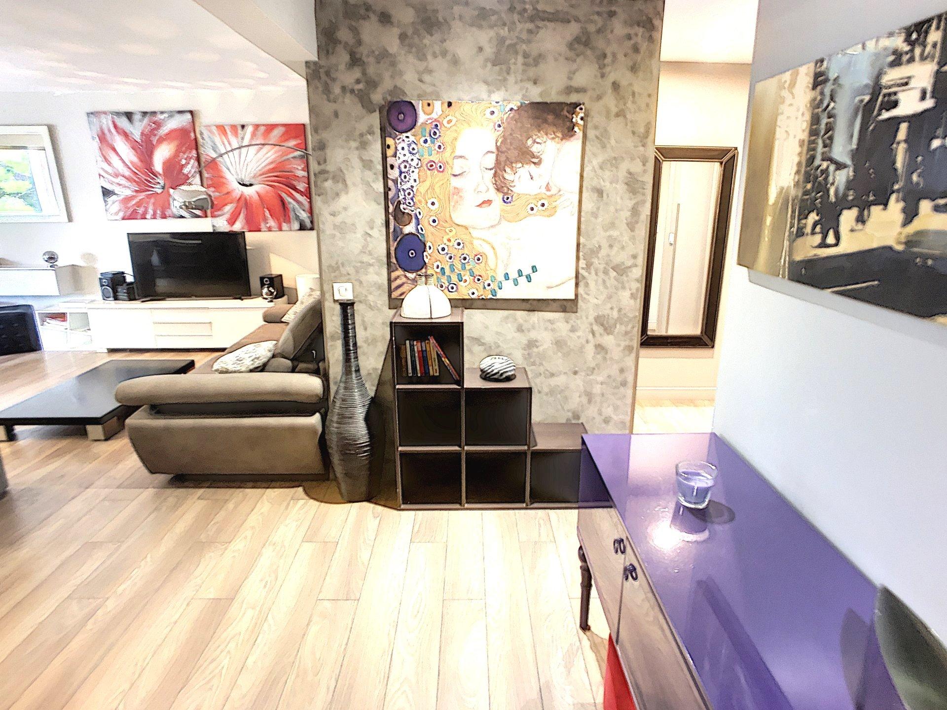 Cannes Montfleury 3P avec garage, Piscine et Sauna