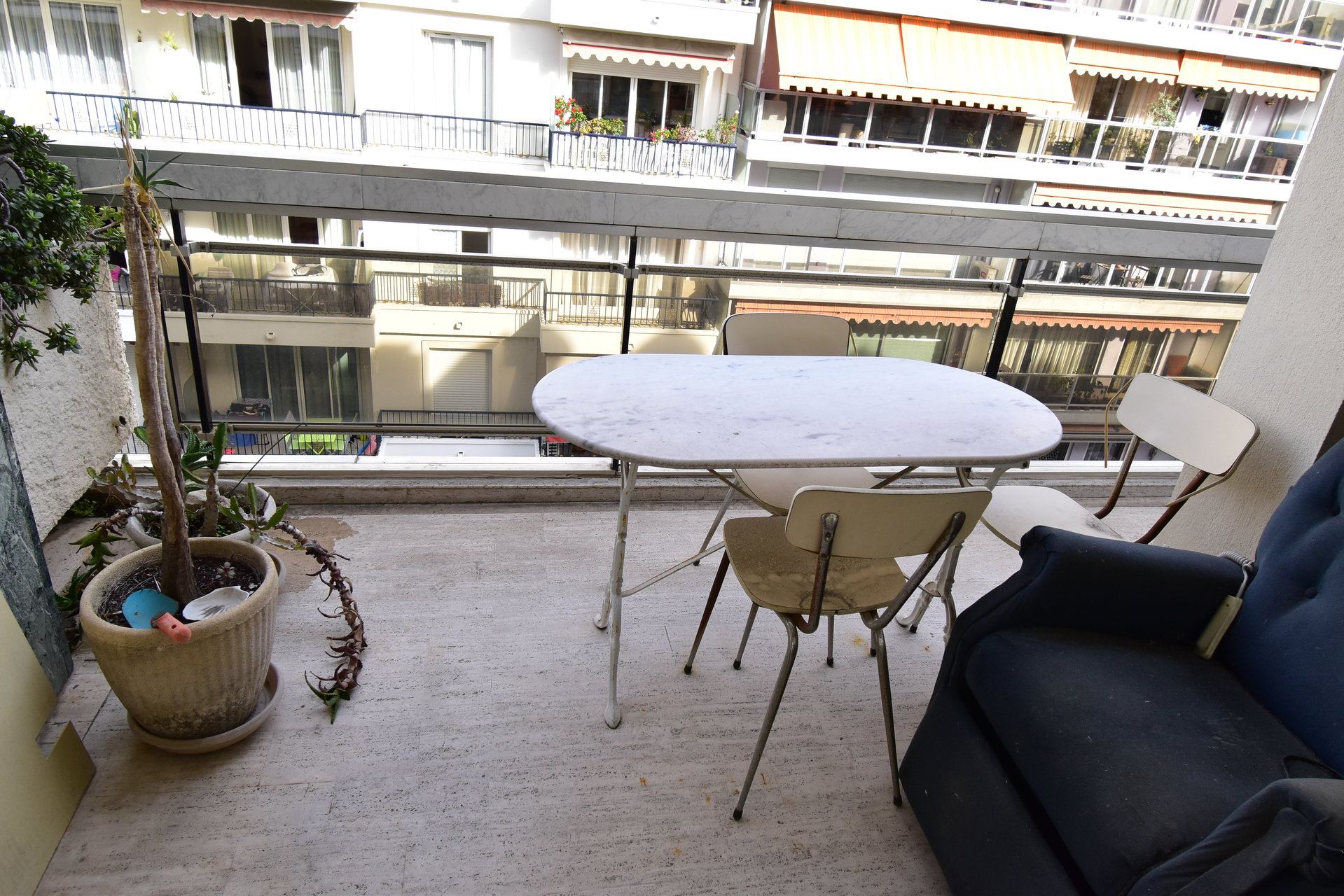 Grand studio avec terrasse à vendre, Nice carré d'or