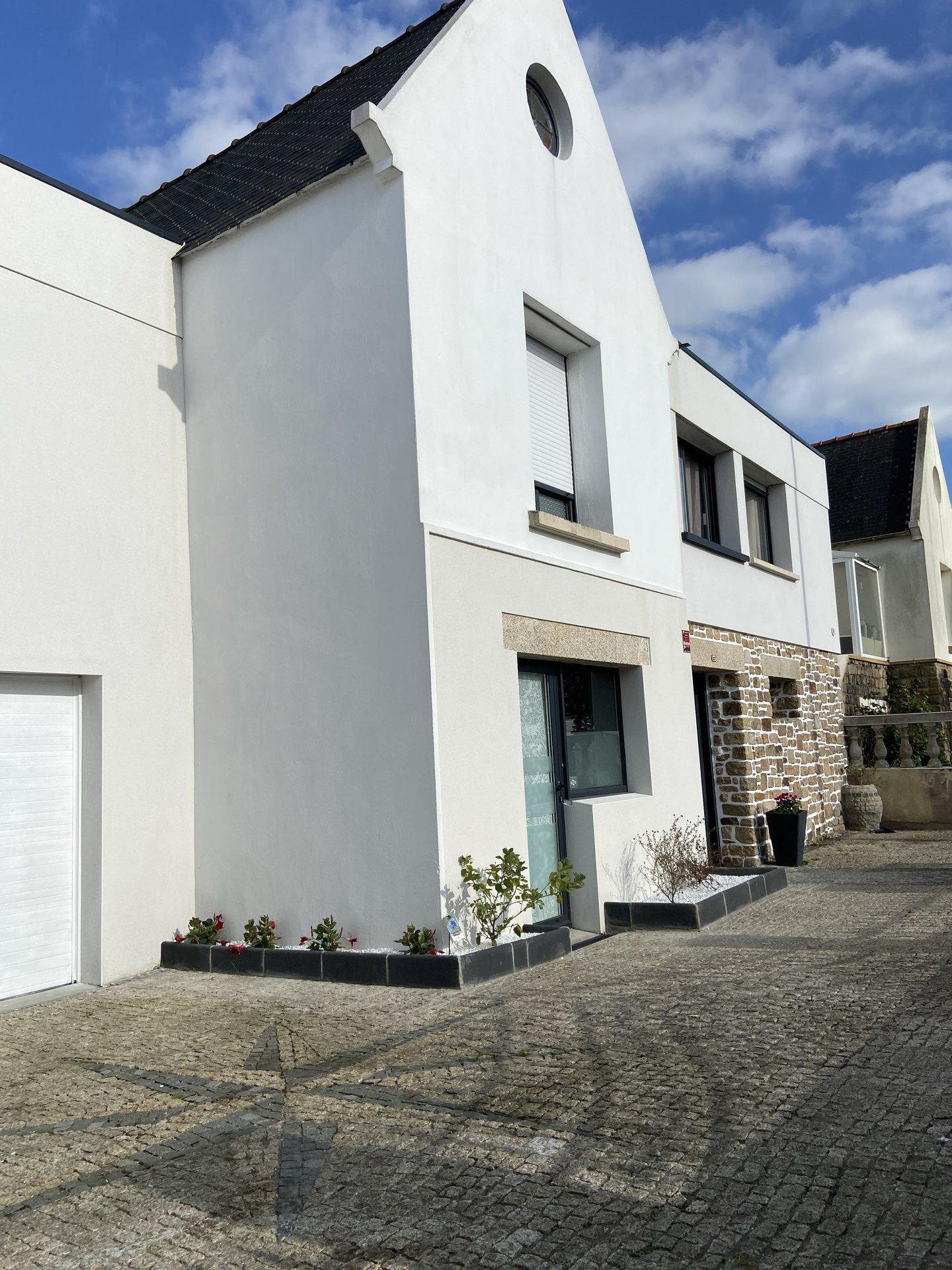 Brest quartier Europe, grande maison familiale