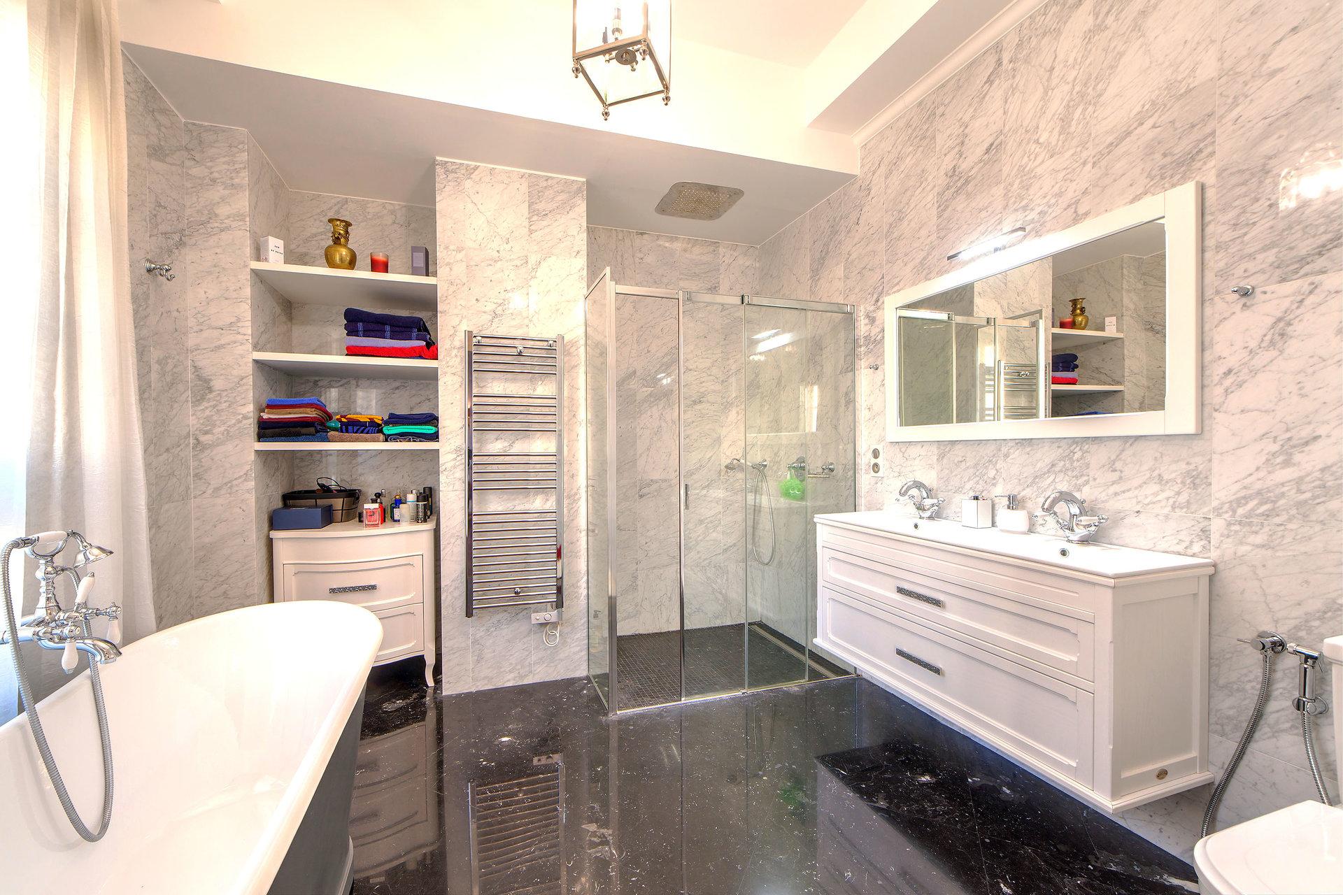 salle de bain maitre