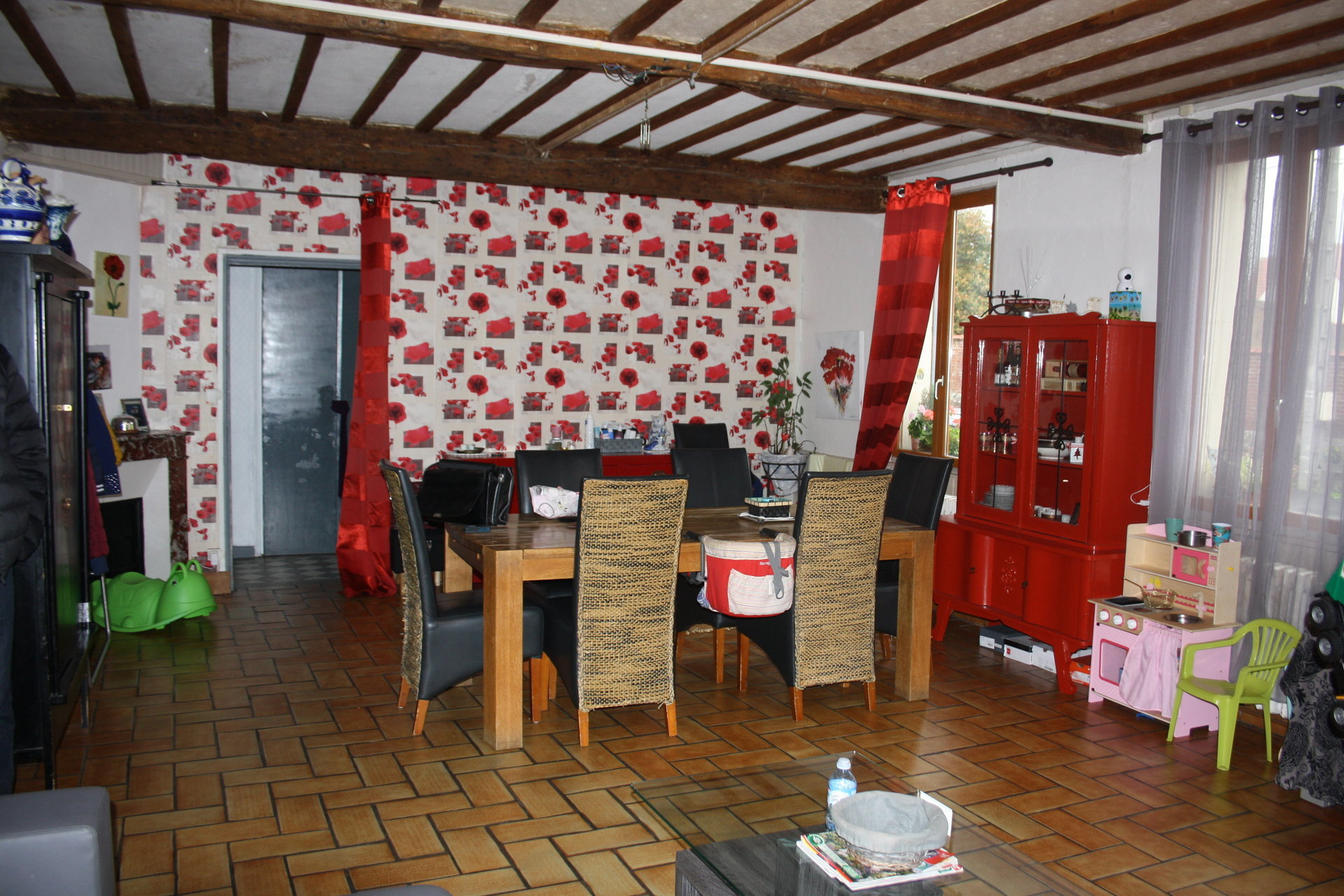 MAISON DE VILLAGE    60640 GUISCARD