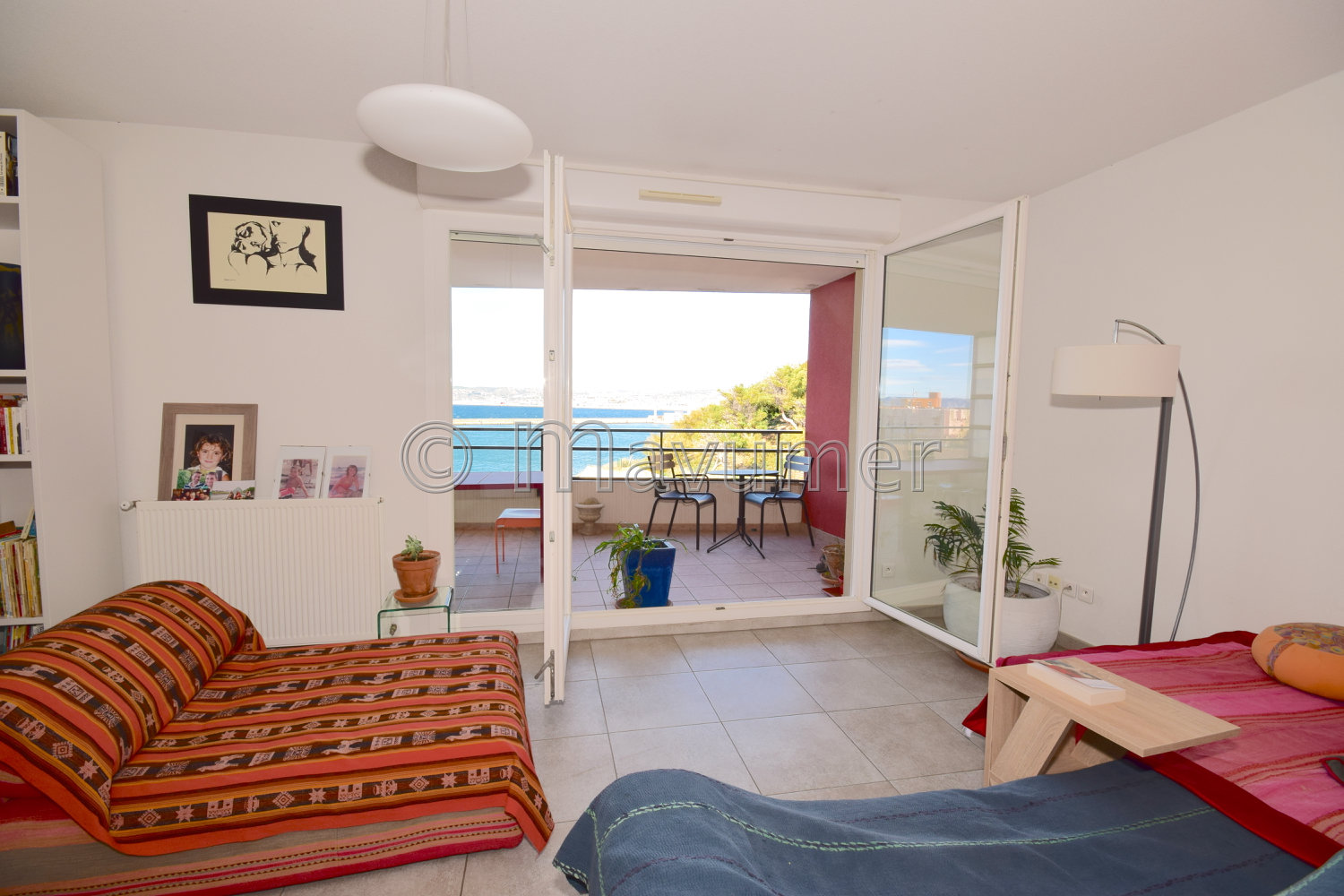 APPARTEMENT T4 VUE MER MARSEILLE 13007