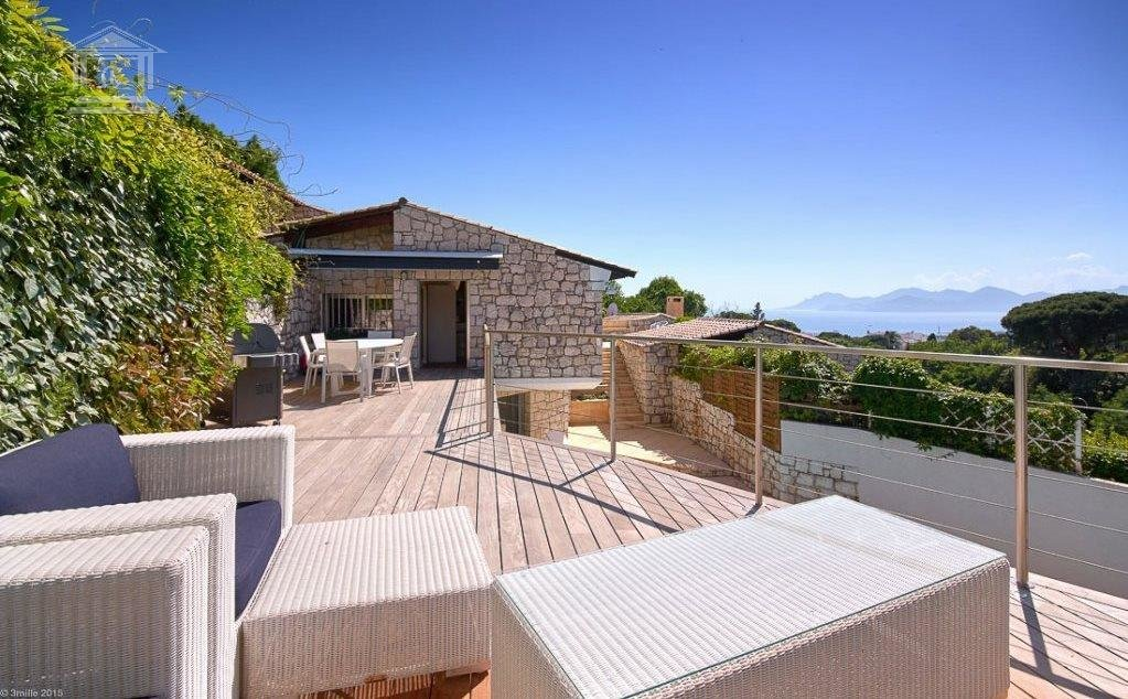 CANNES - Californie. Modern villa with pool close to the center