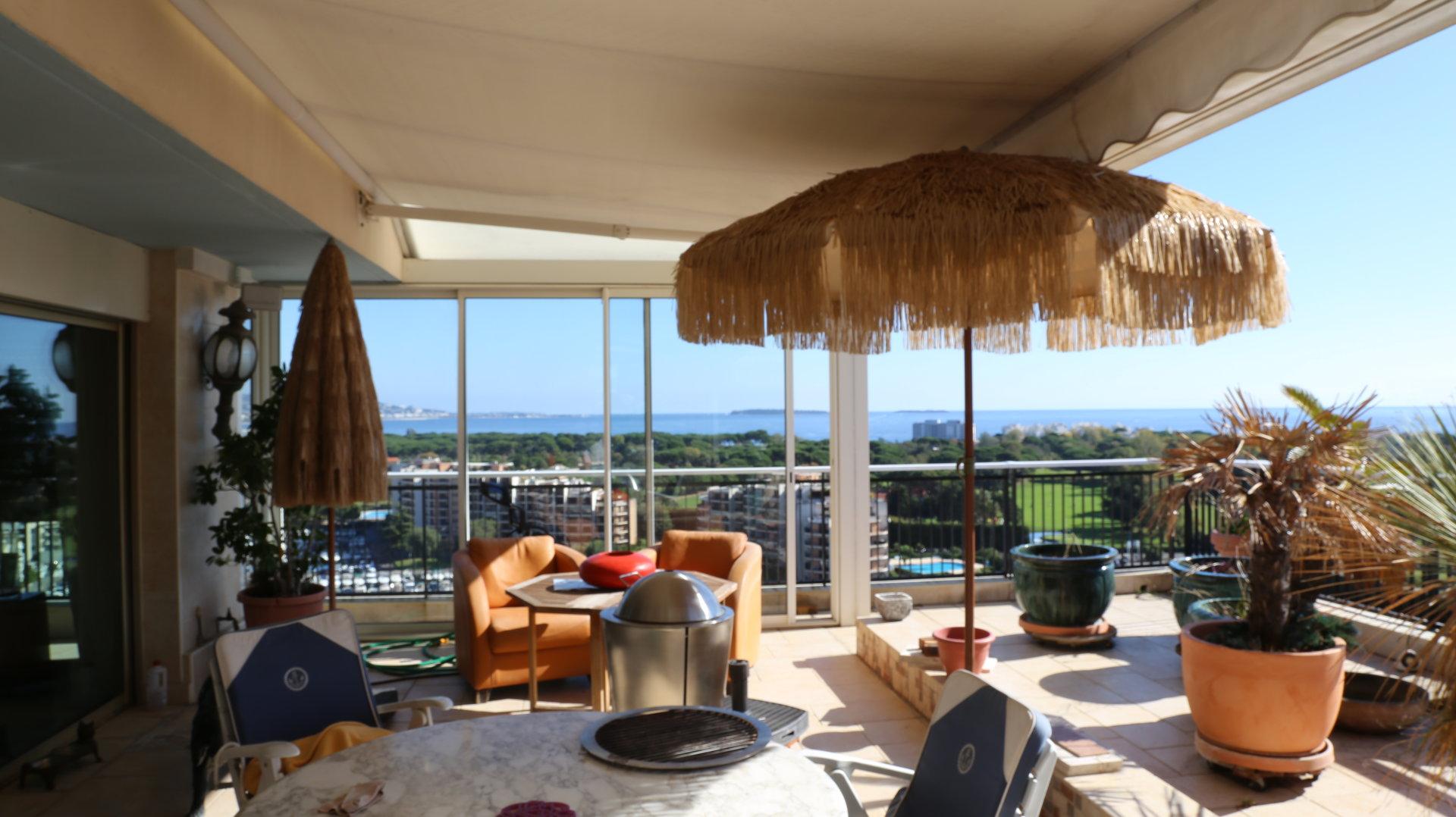 Villa sur toit 200m² vue mer panoramique