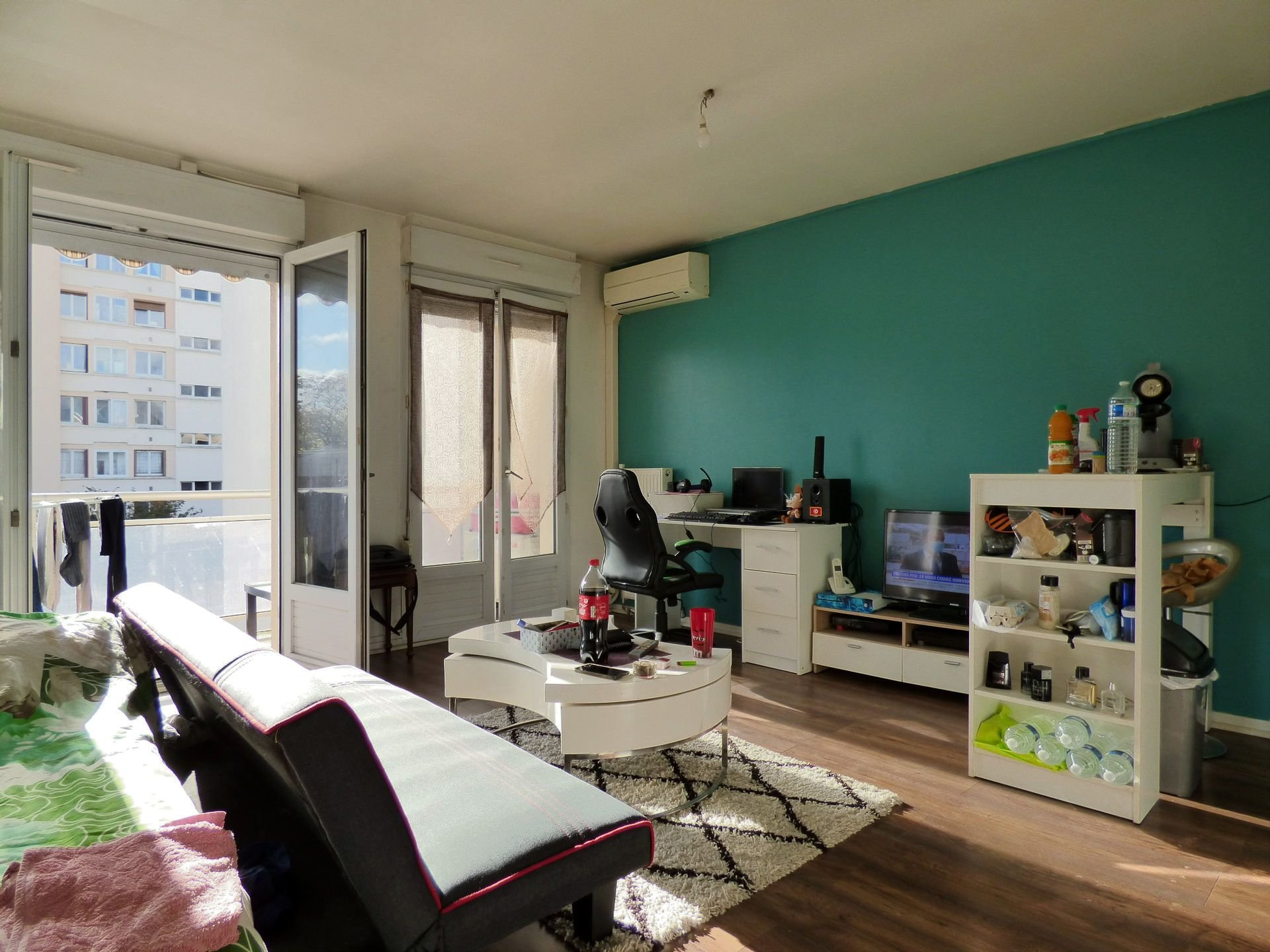 Studio avec balcon + parking Place carnot