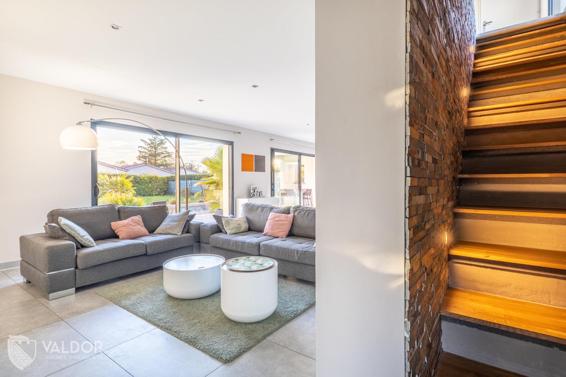 Maison contemporaine de 170 m²