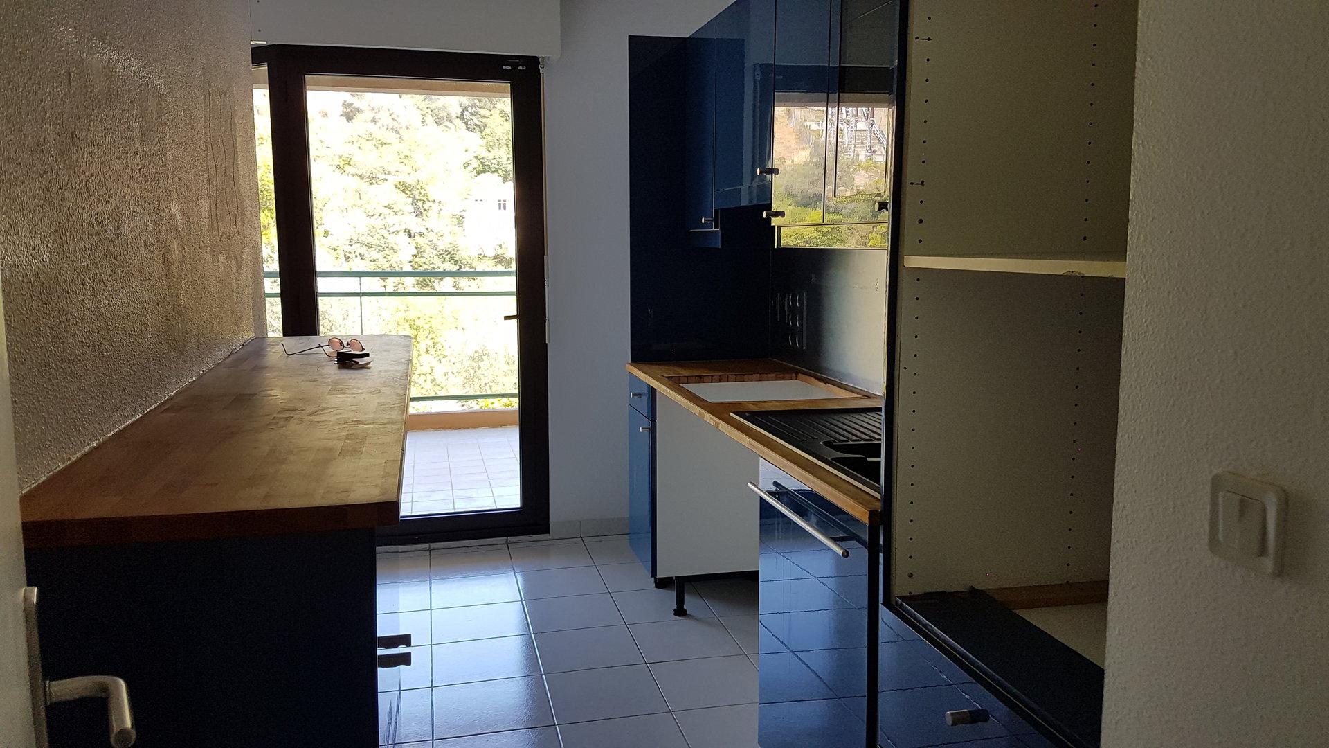 2 pièces garage terrasse 18m²