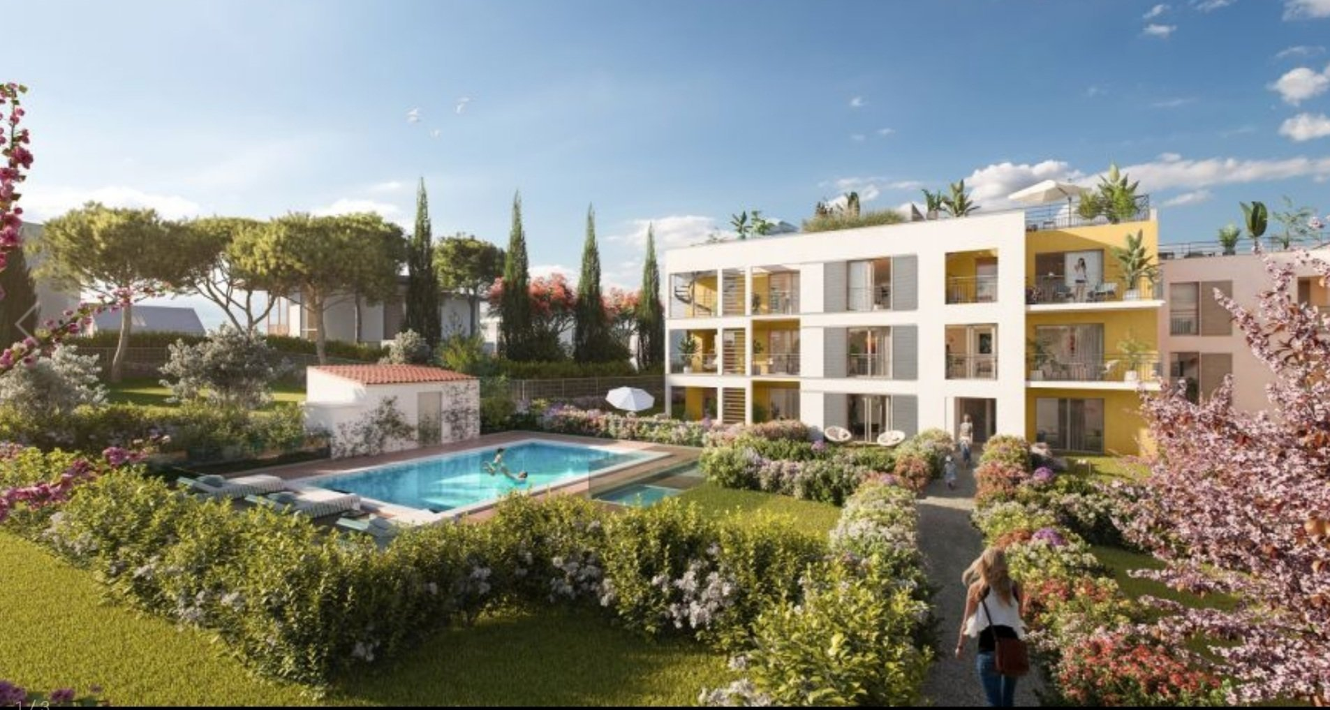 Antibes/New Build/ 447 Jardin Secret