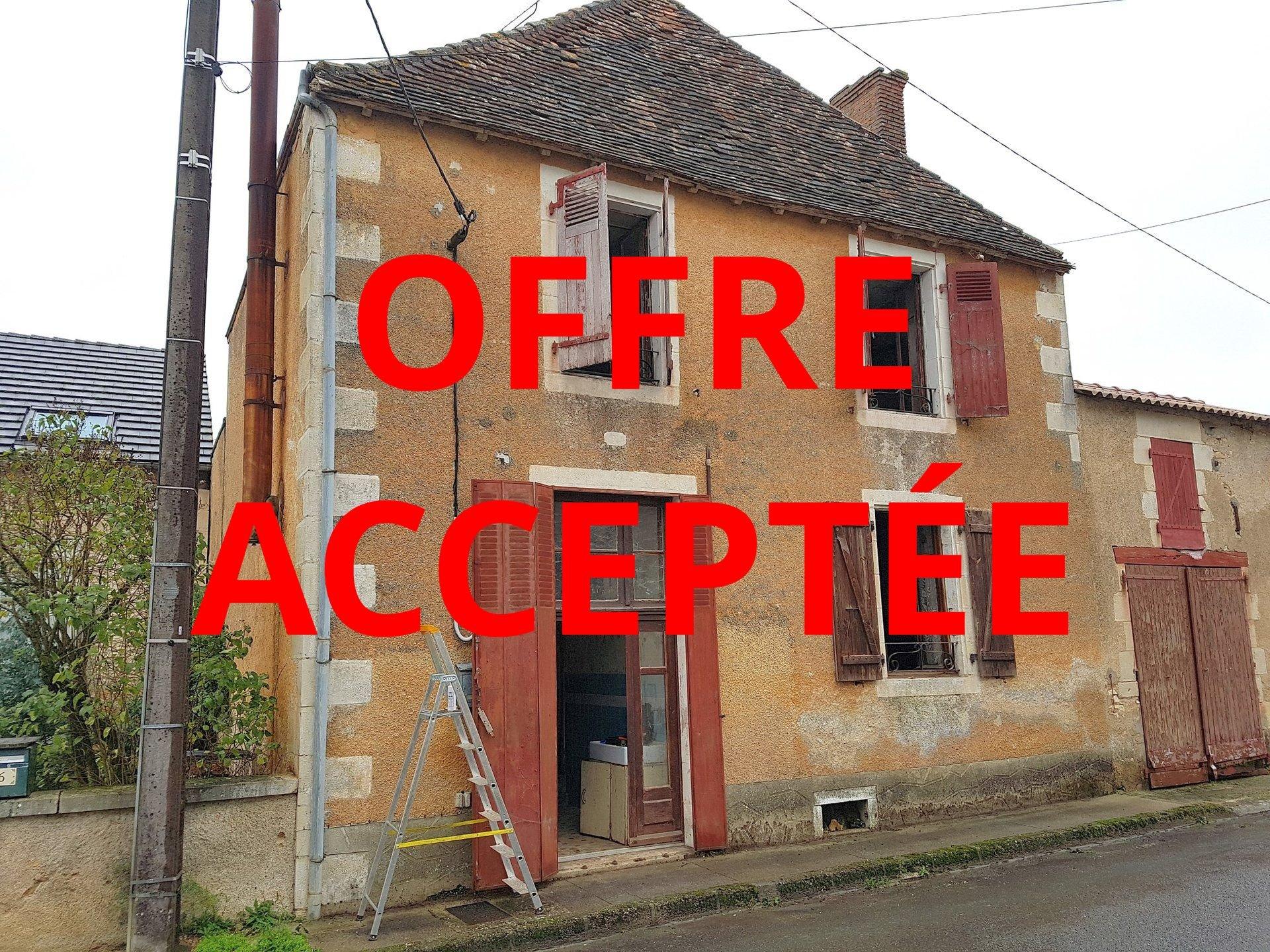 Maison à restaurer à vendre proche Montmorillon, Vienne 86