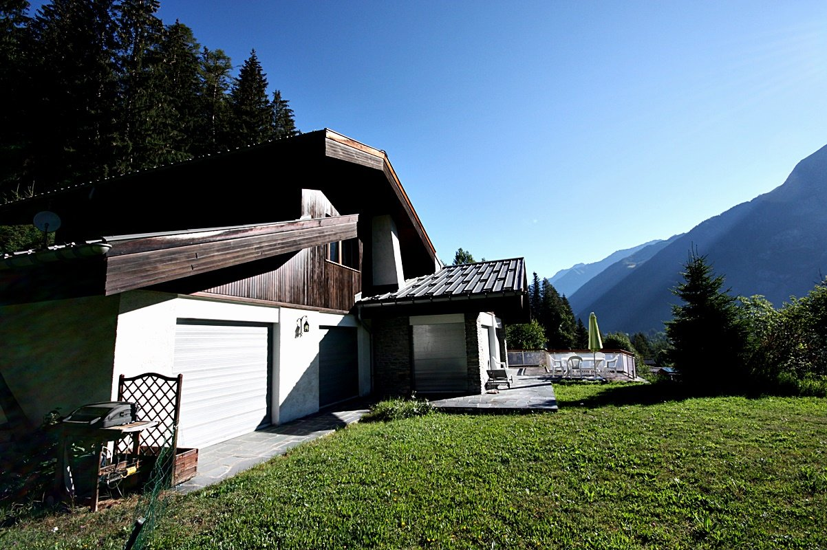 Chalet with great view
