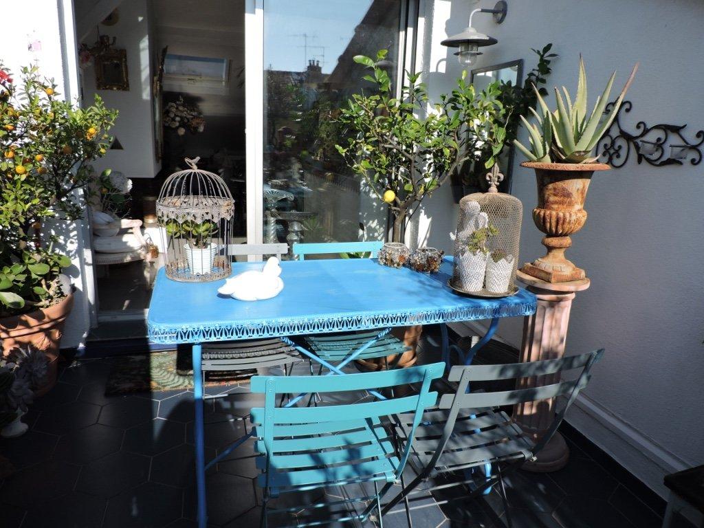 Nice Fleurs, last floor with big terrace