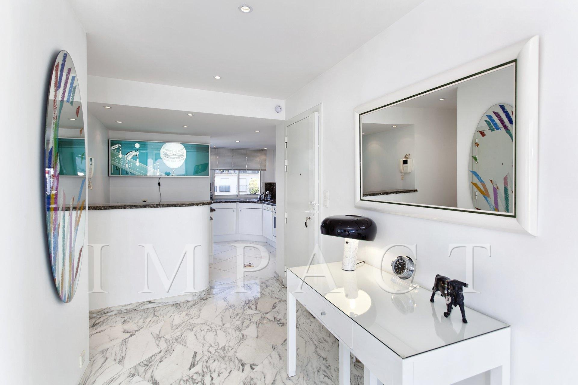 Beautiful apartment to rent, sea view, Cannes center