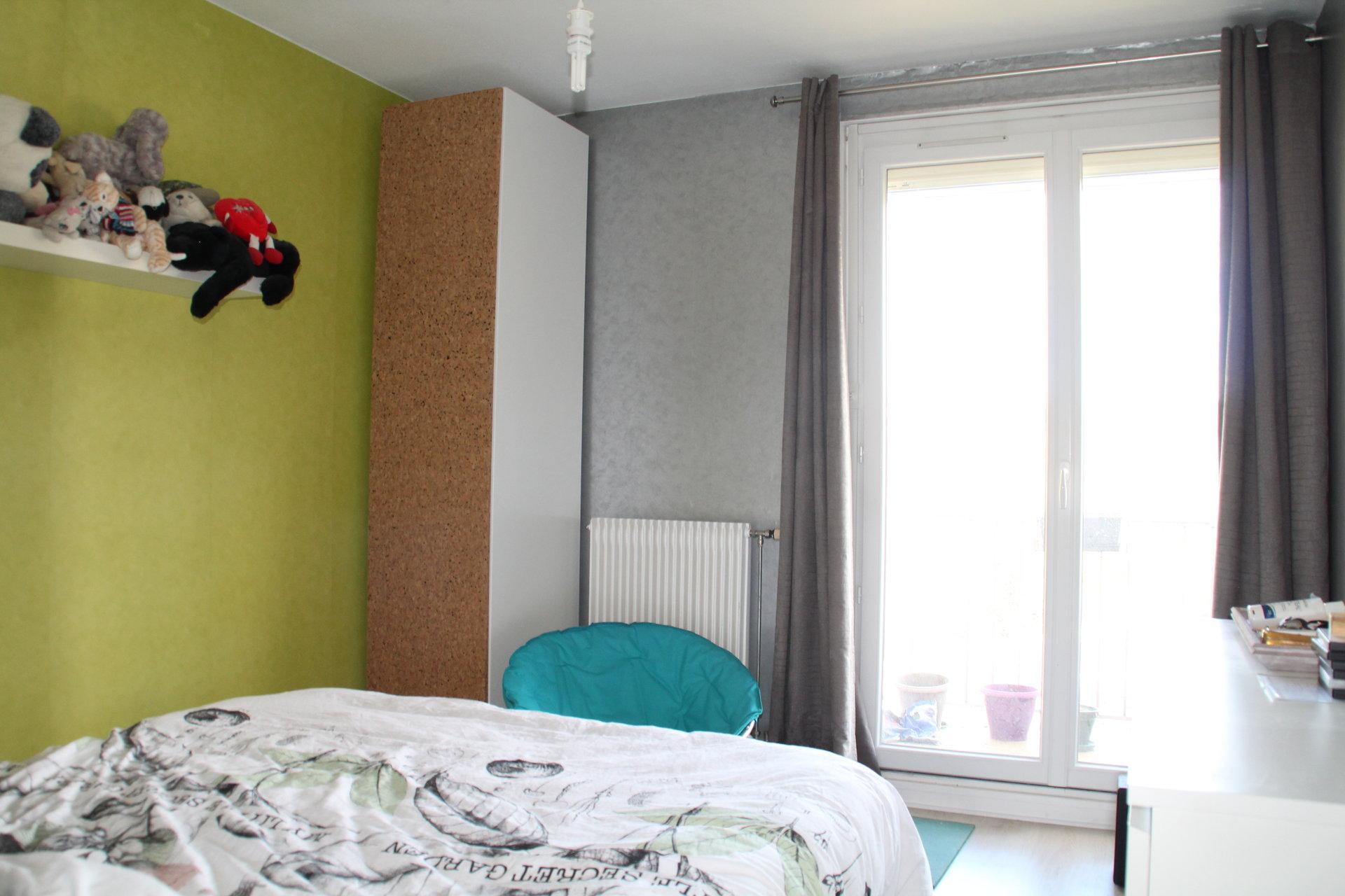 Appartement T4 de 82.5m² avec 2 balcons