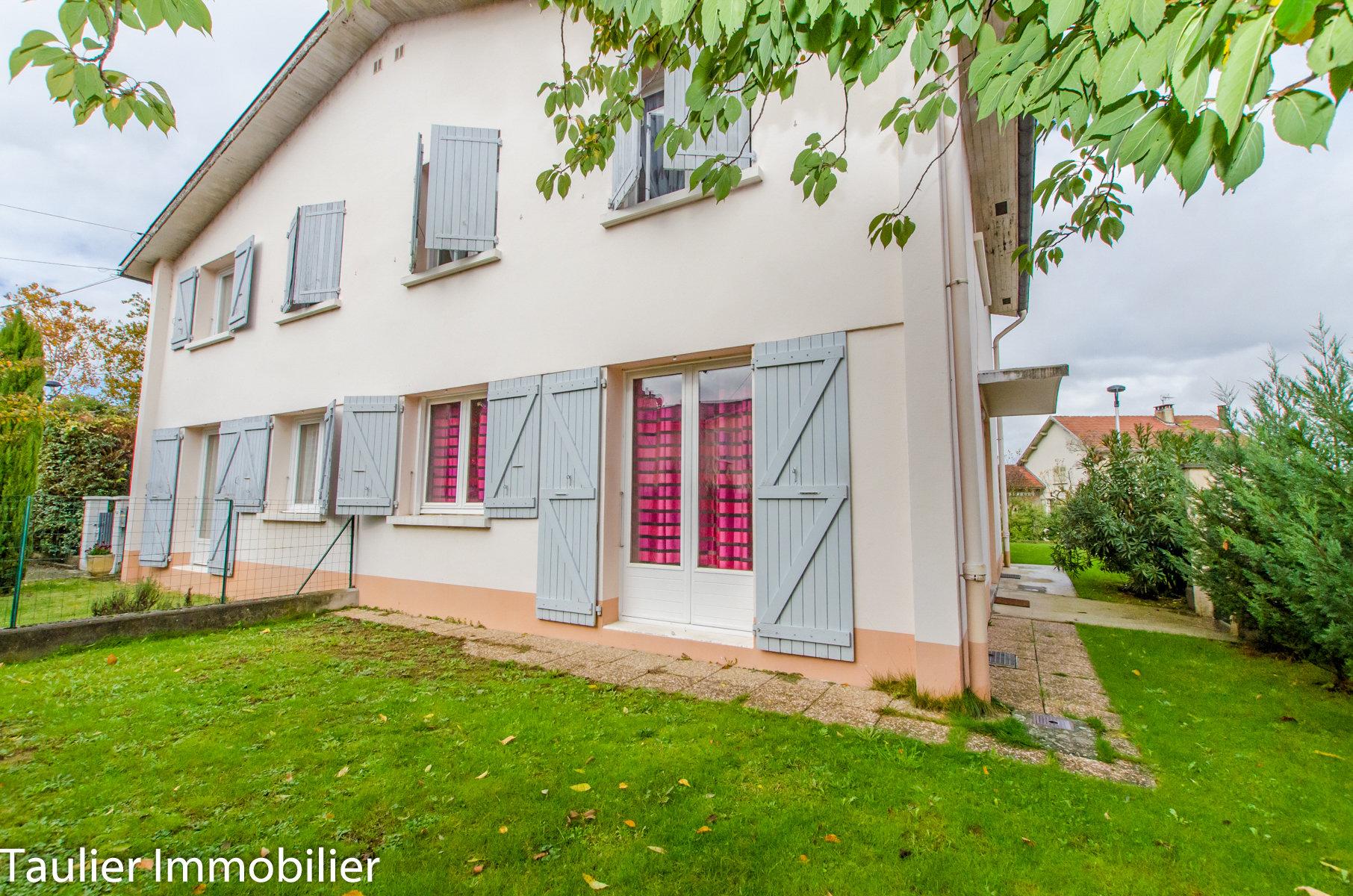 Maison T4duplex avec jardin