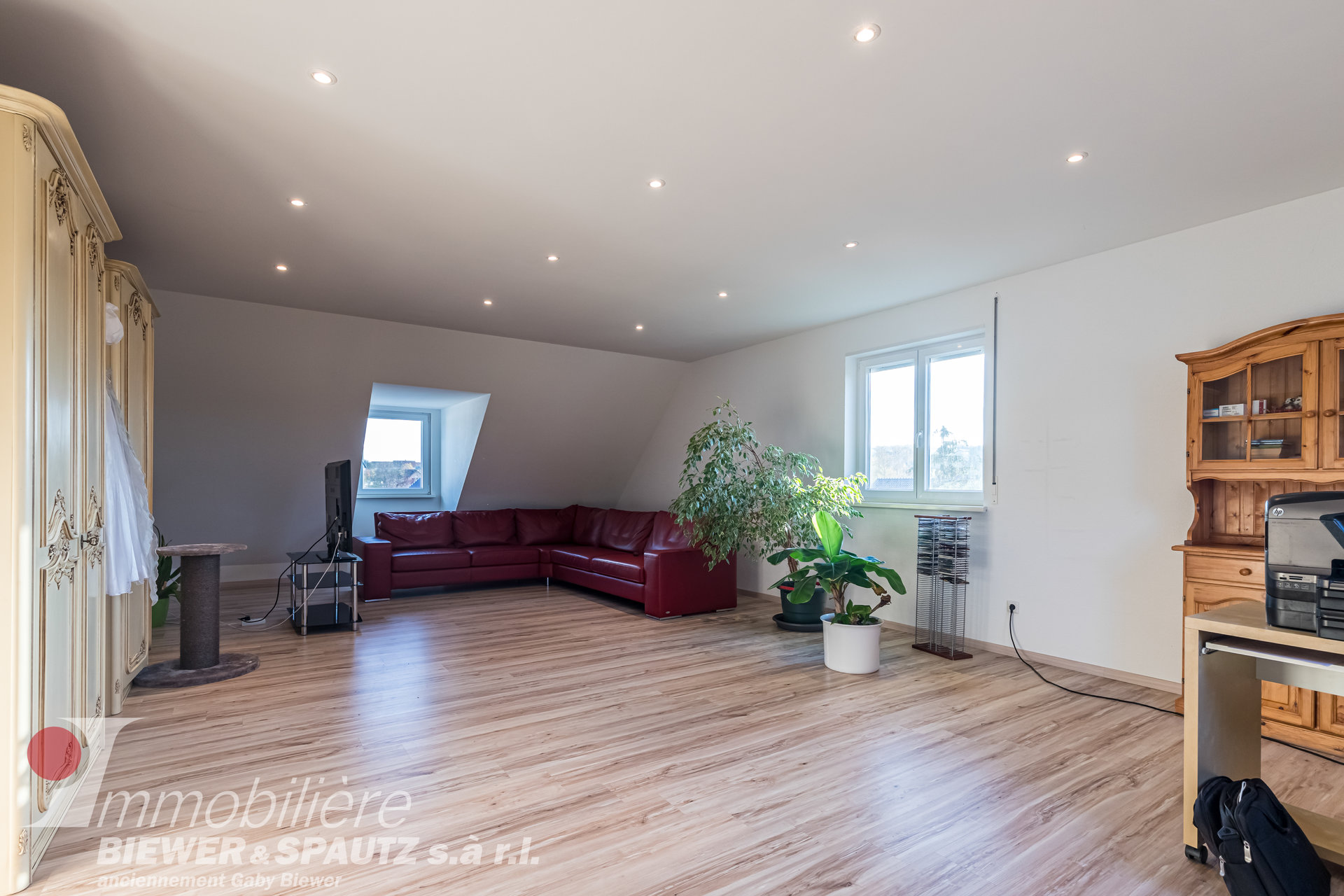 VENDU - appartement-triplex avec 4 chambres à coucher à Berbourg