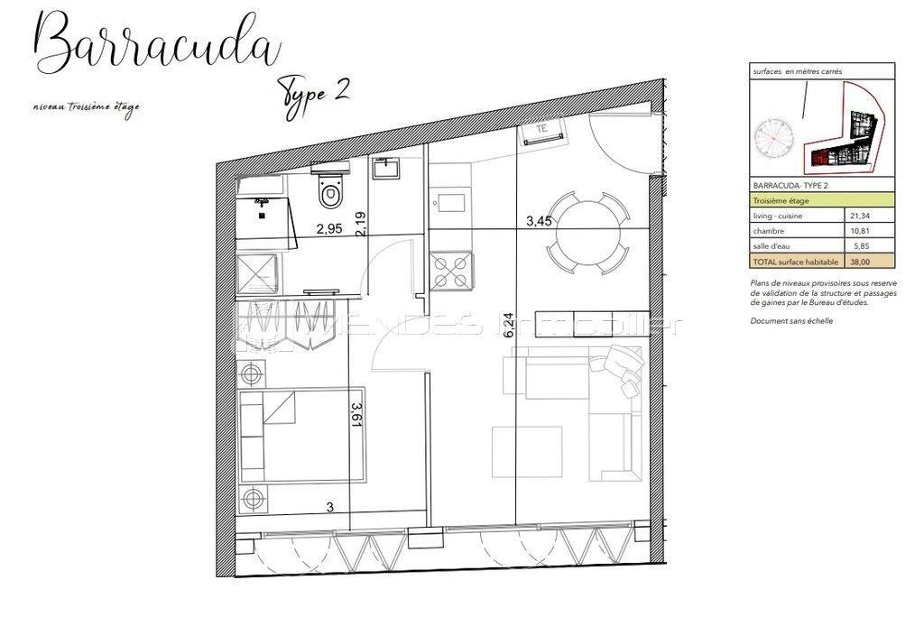 Försäljning Lägenhet - Beausoleil Moneghetti
