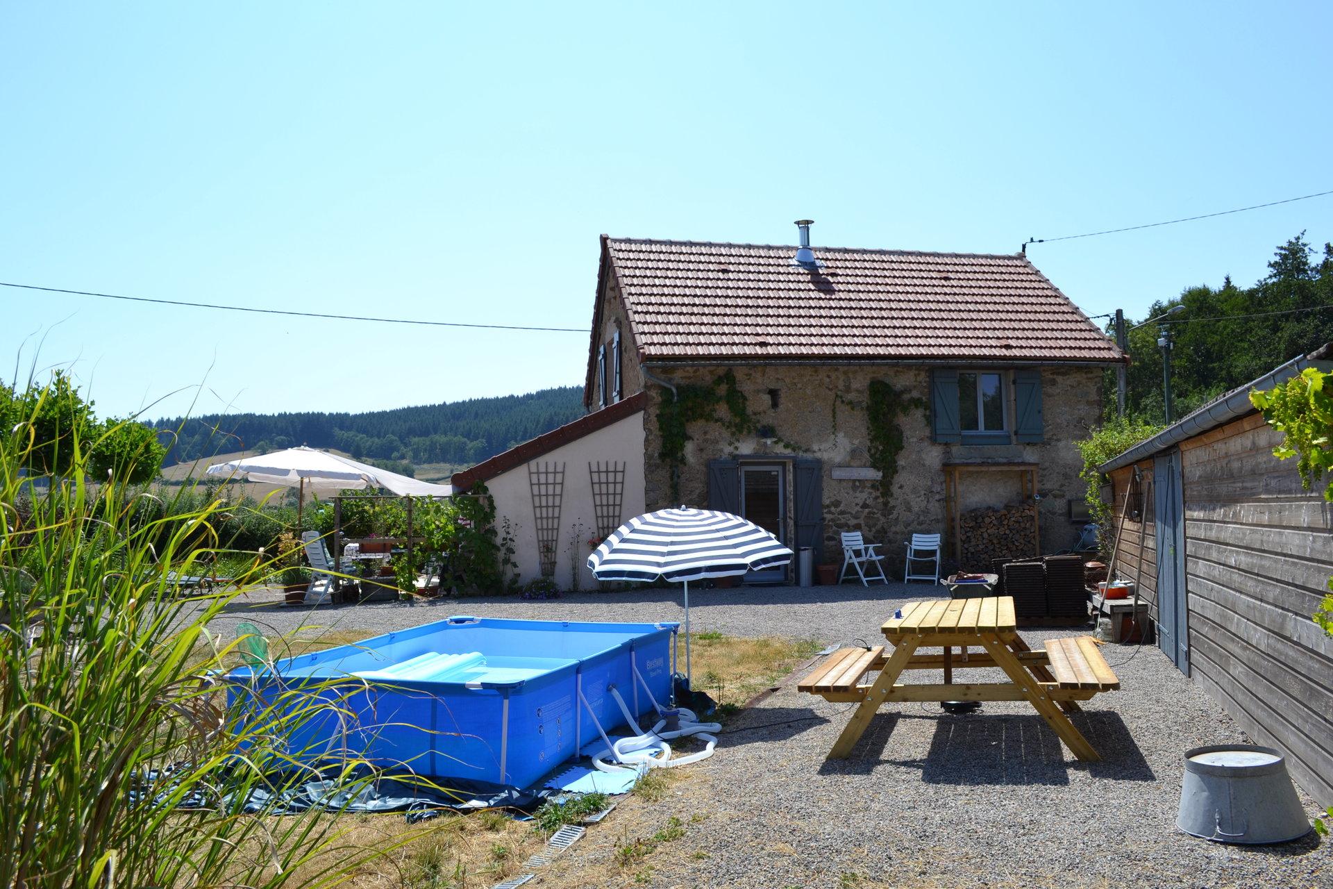 Knus woonhuis te koop nabij Lucenay L'évêque, Morvan