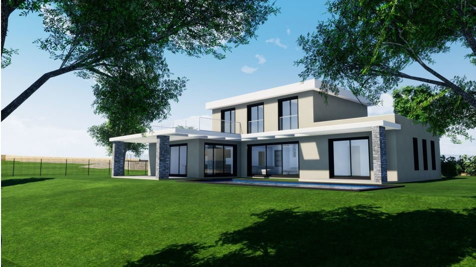 New villa; close to Opio village