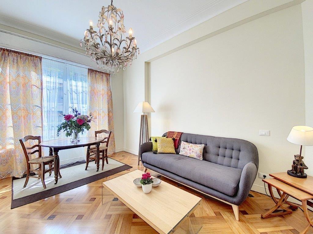FÖRSÄLJNING Lägenhet 3 Rum 72m2 Nice Musiciens Berlioz Balkong Utsikt!