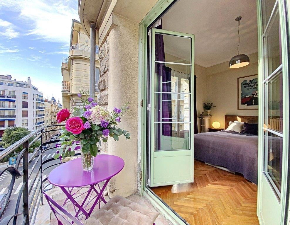 SALE Apartment 3 Rooms Nice Musiciens Berlioz Balconies View!