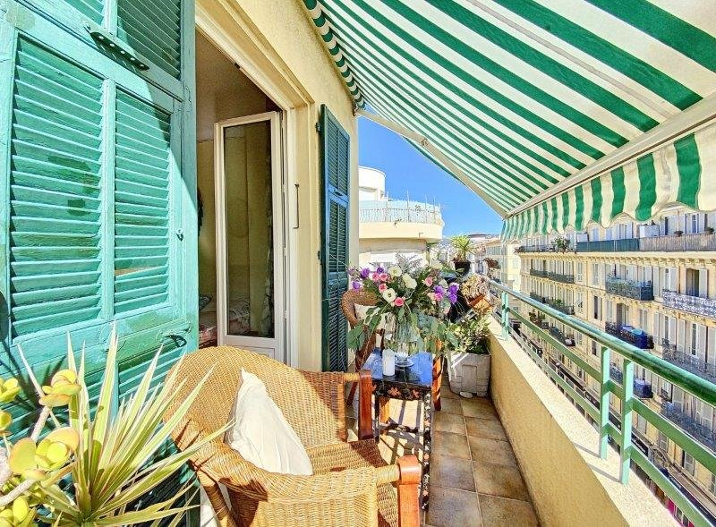 SALE Apartment 4 Rooms 85M2 Nice Fleurs Large Balcony View Close Sea!