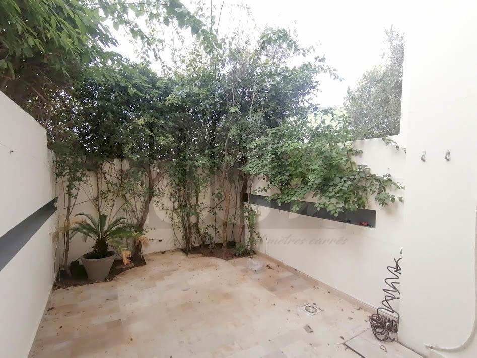 Location Duplex s+4 avec jardin à La Marsa Relais