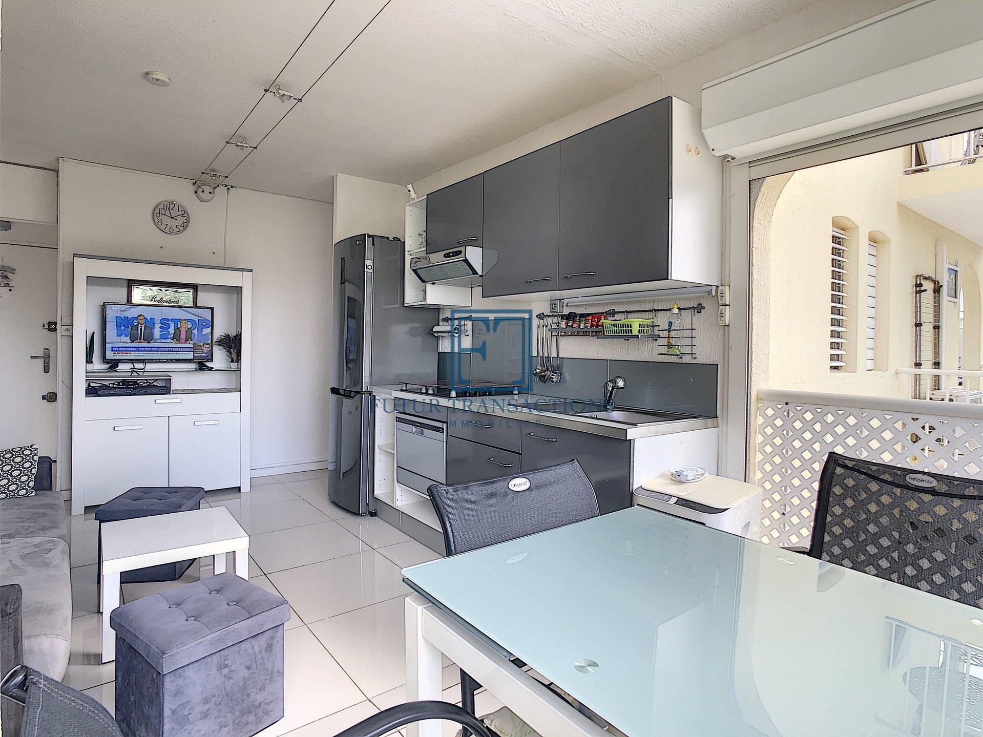 Bel appartement T2 au coeur de La Marina