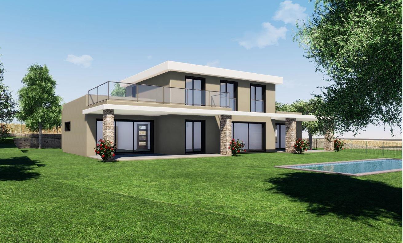 New villa closed to Opio village