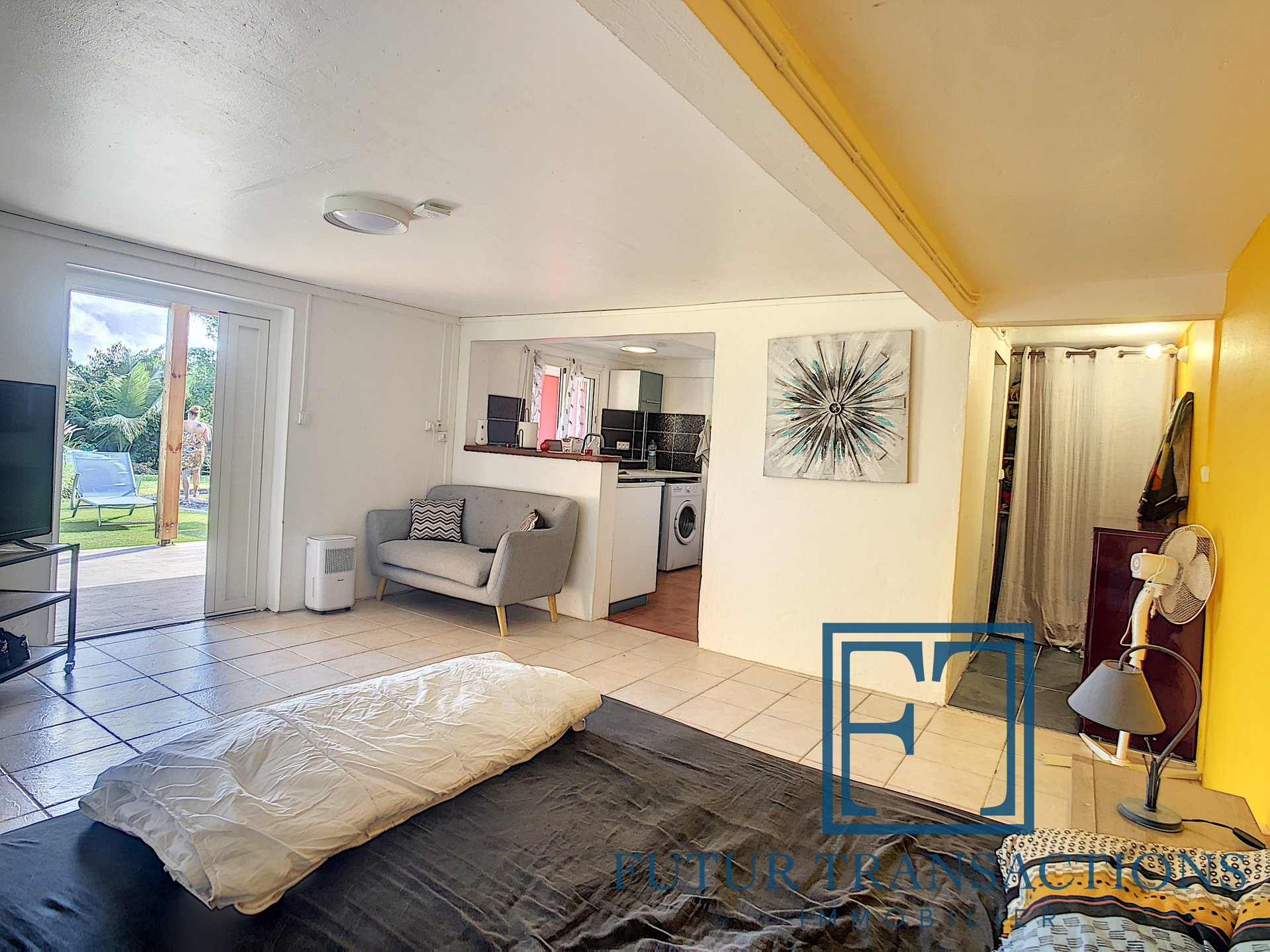 Villa T4 piscine + 2 appartements locatifs