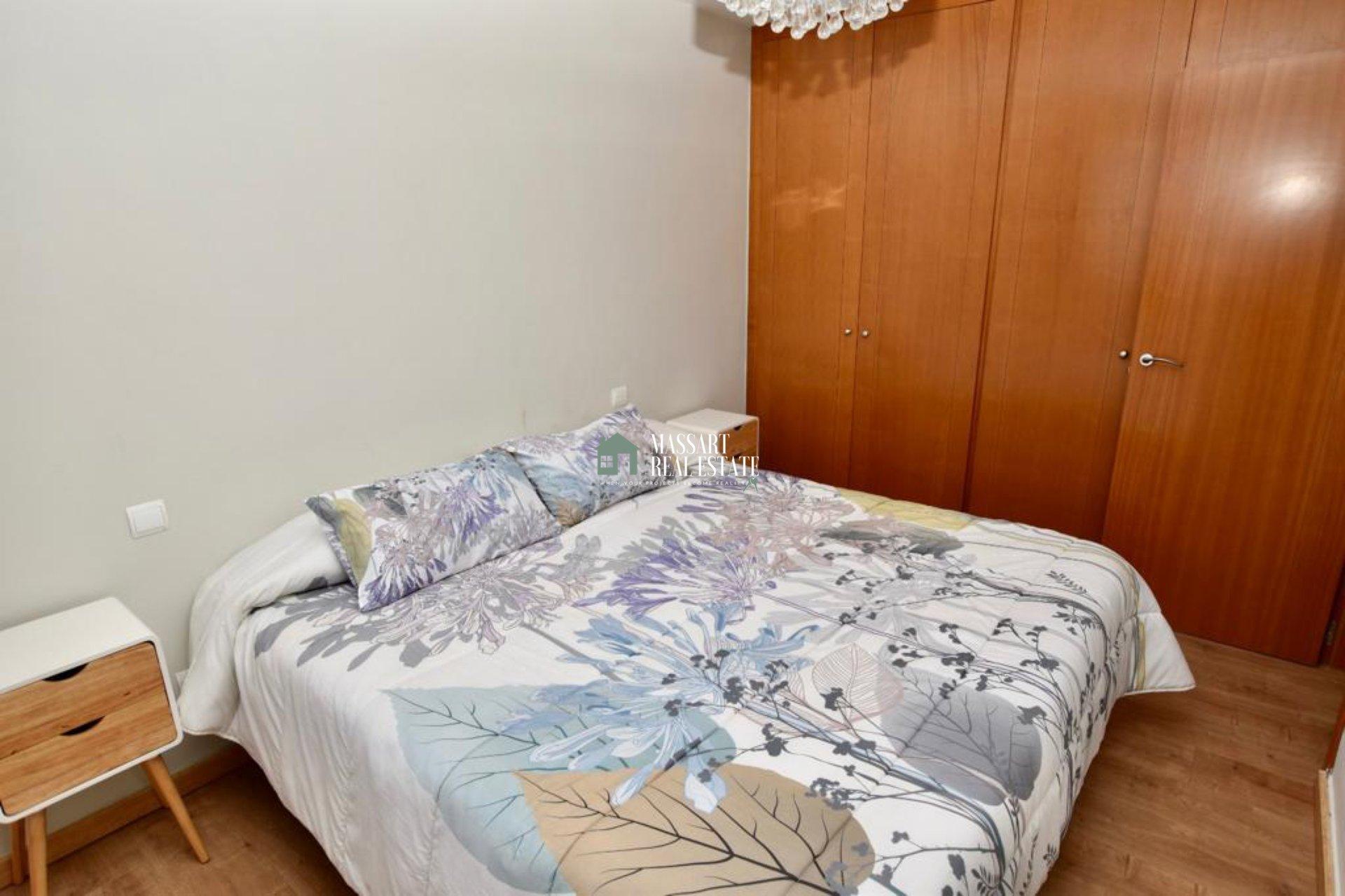 Apartamento completamente amueblado ubicado en la popular zona de Playa Paraíso (Paraíso I).