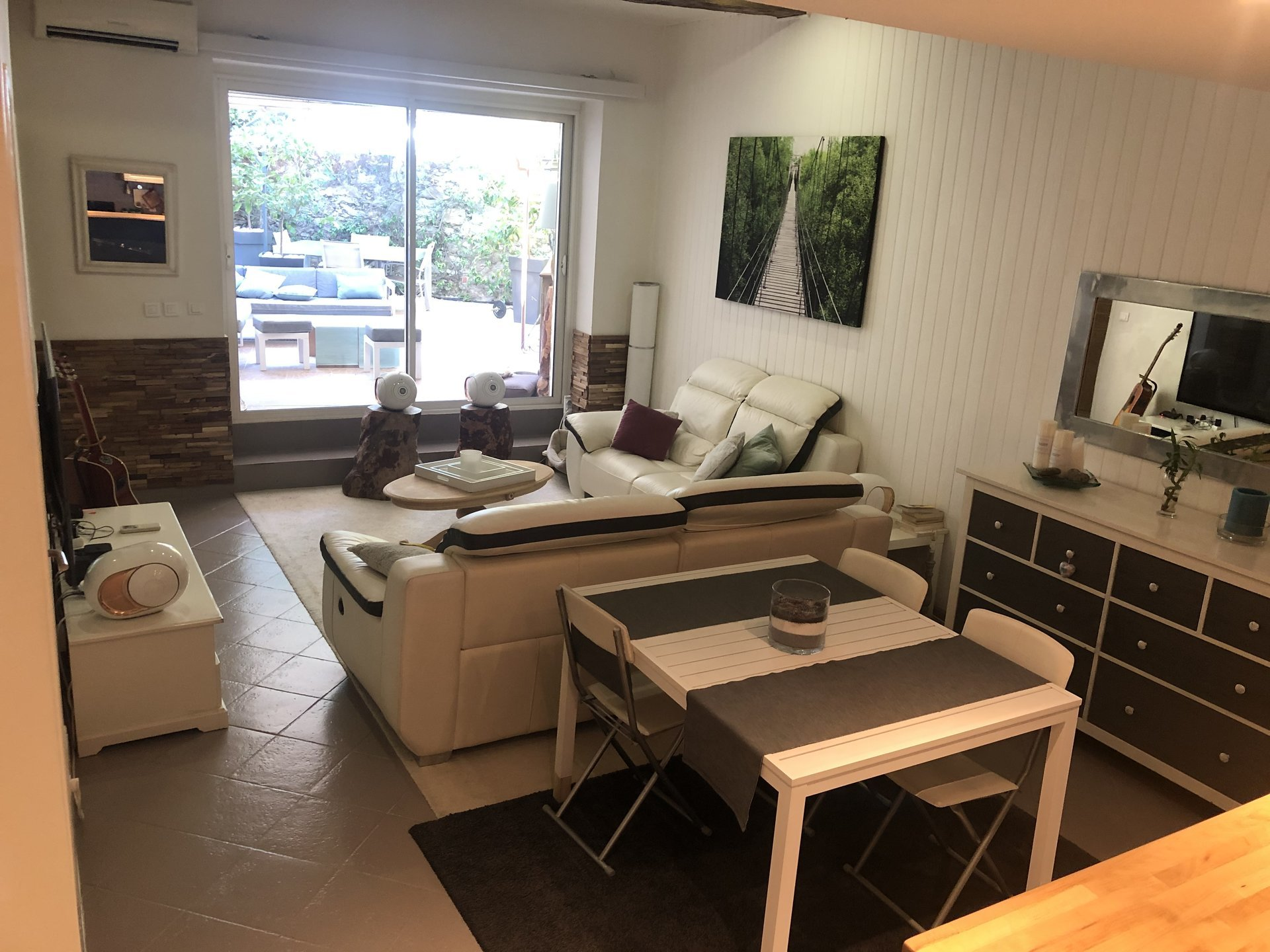 3 rooms apartment with garden in Cogolin