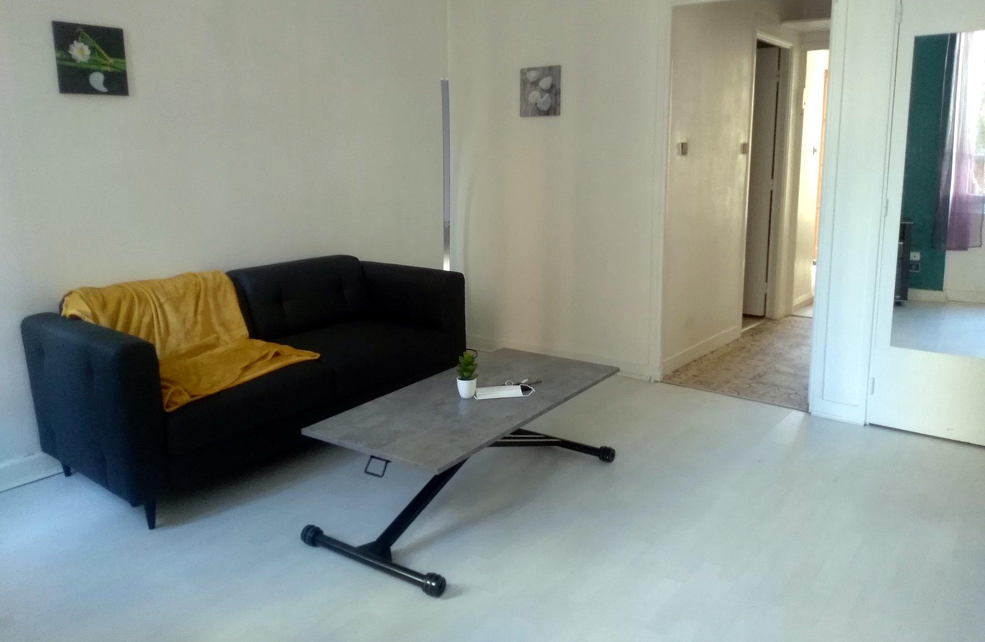 Grand Rond T2 meublé