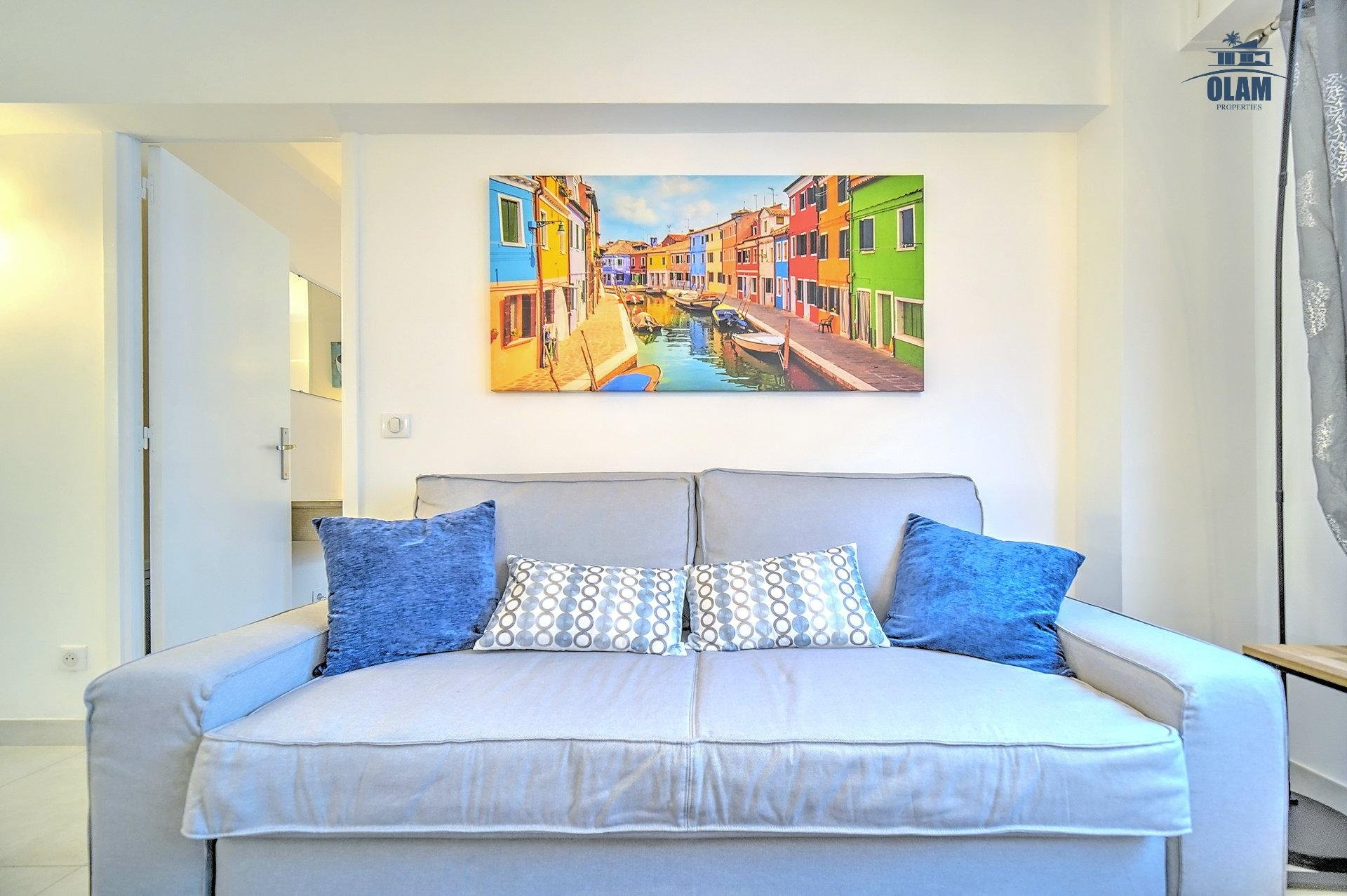 Cannes: Superb 3 bedrooms apartment in the heart of the city