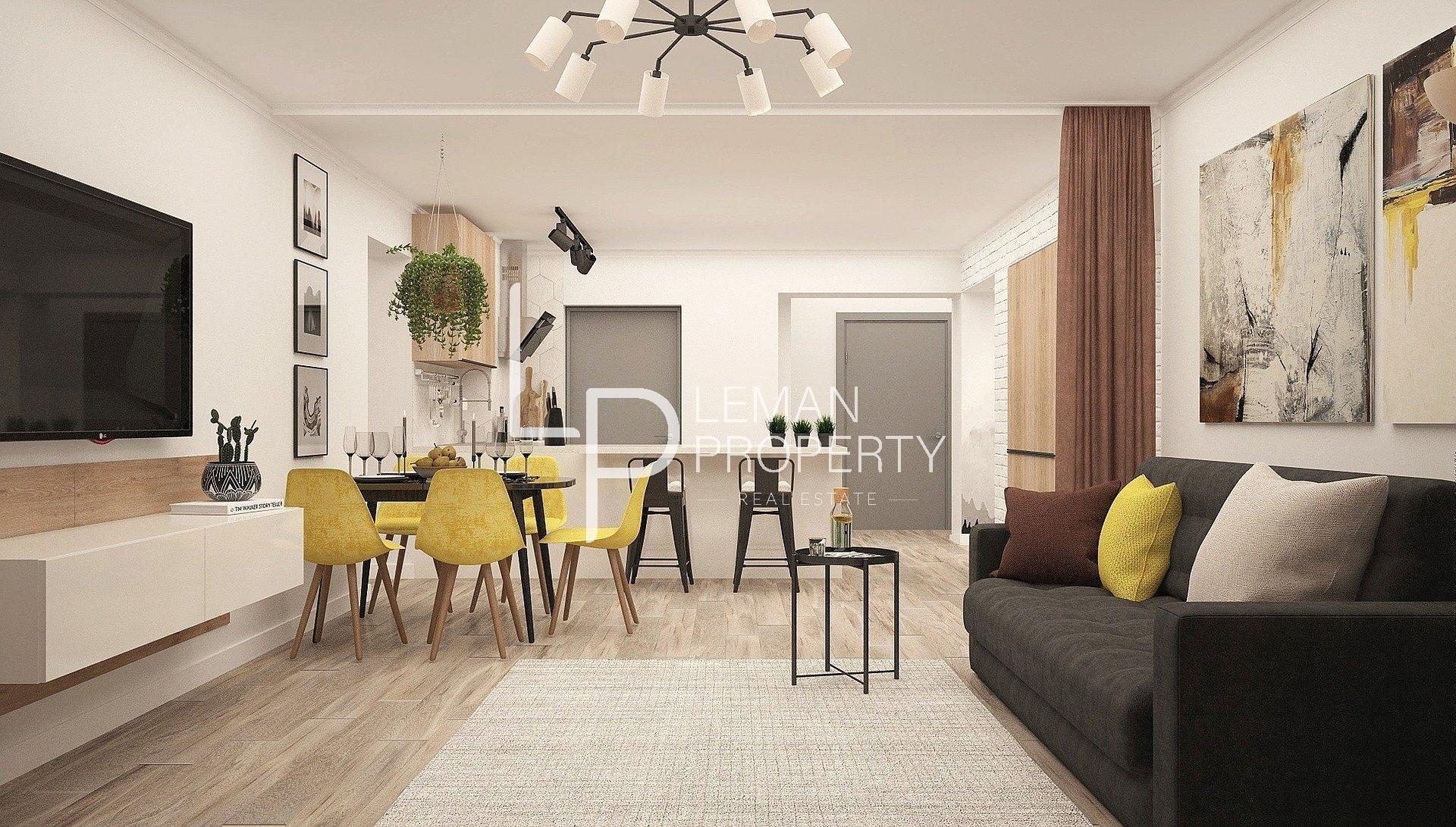 Vente de appartement d'une surface de 44 m2
