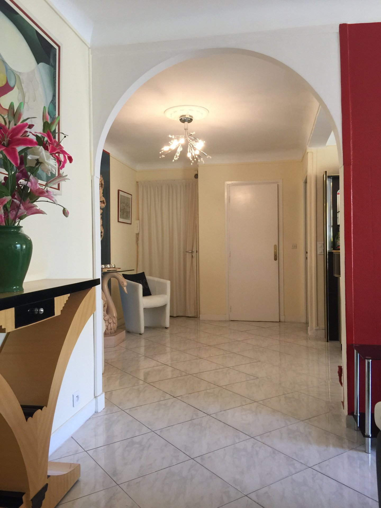 appartement 6 couchages rue d'Antibes en Duplex