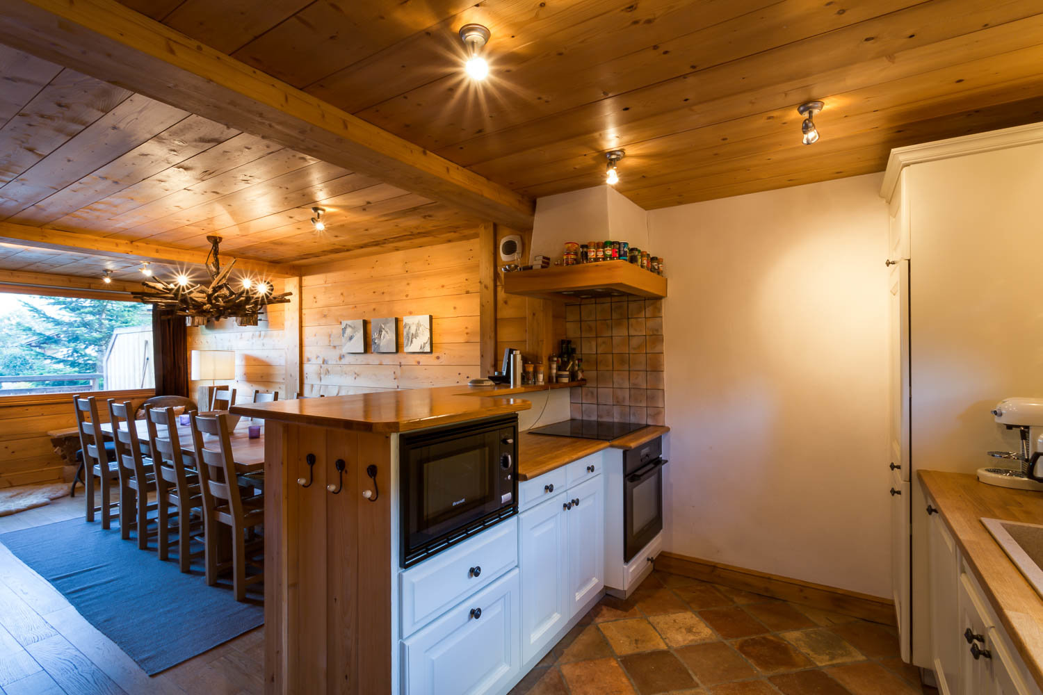 Semi-detached chalet on the pistes - Fantastic views