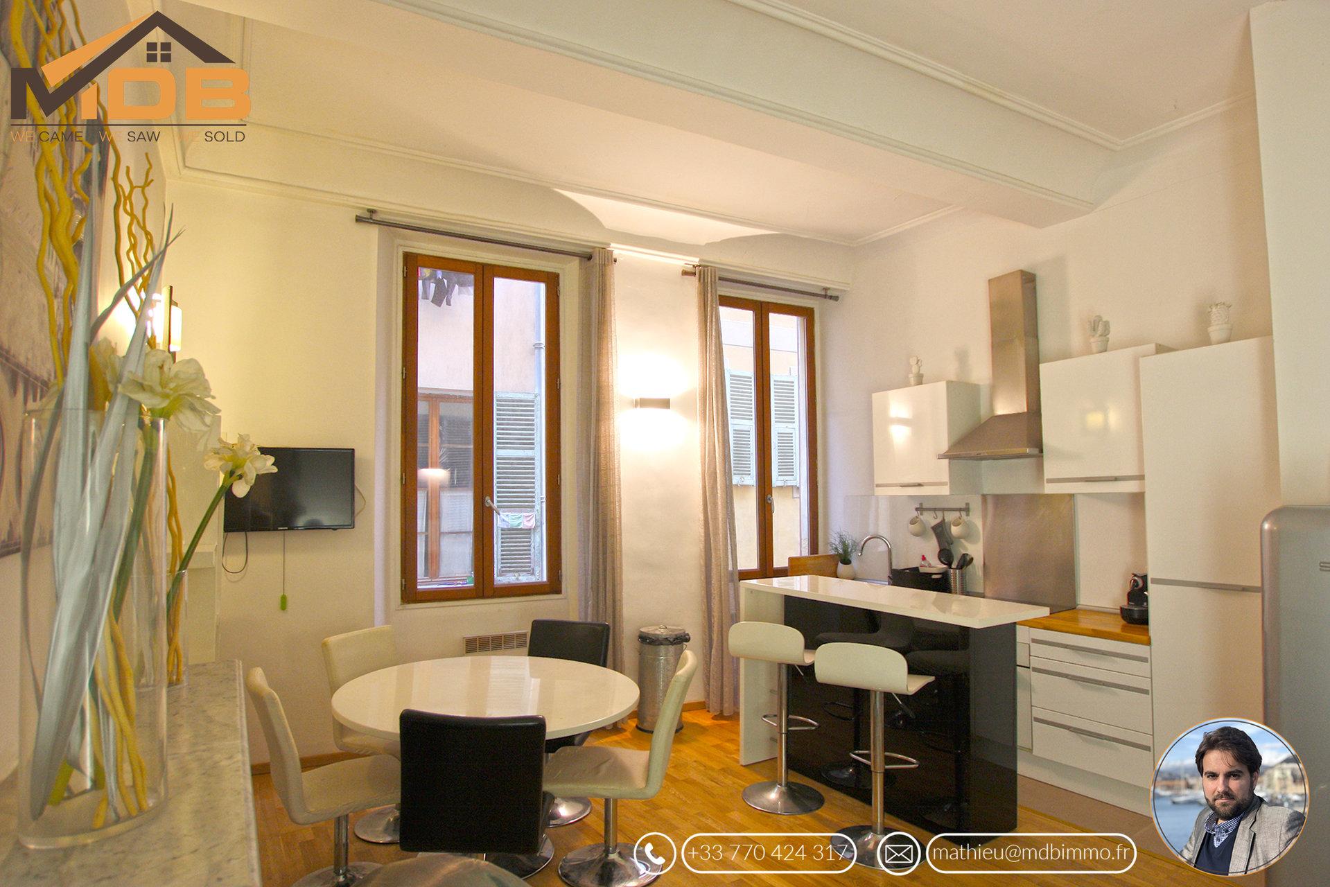 Vieux-Nice - 2 appartements (2p+studio) - Idéal investissement !